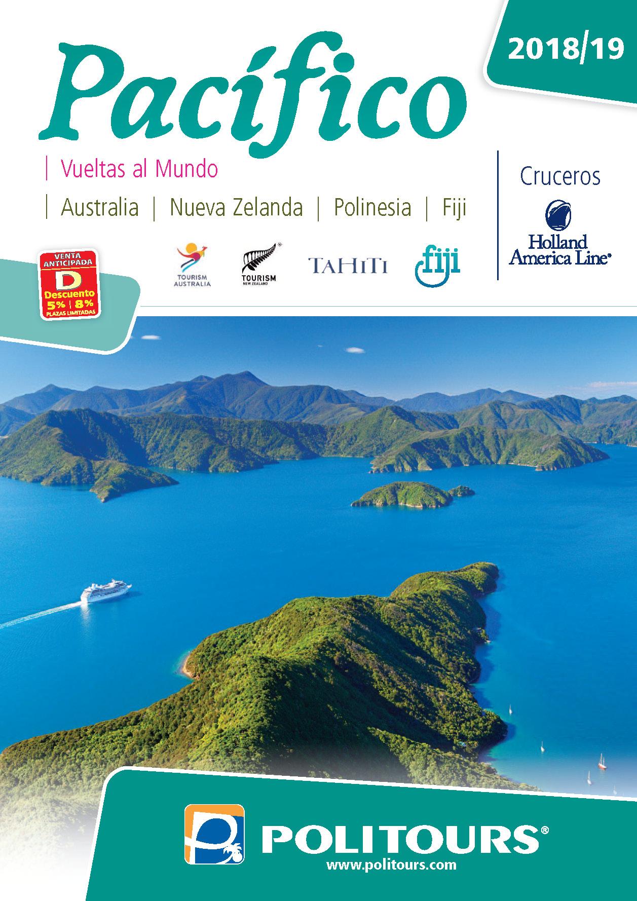 Catalogo Politours Pacifico 2018-2019