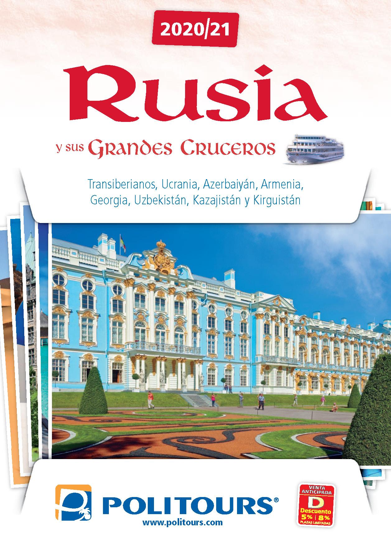 Catalogo Politours Rusia y ex Republicas Sovieticas 2020-2021