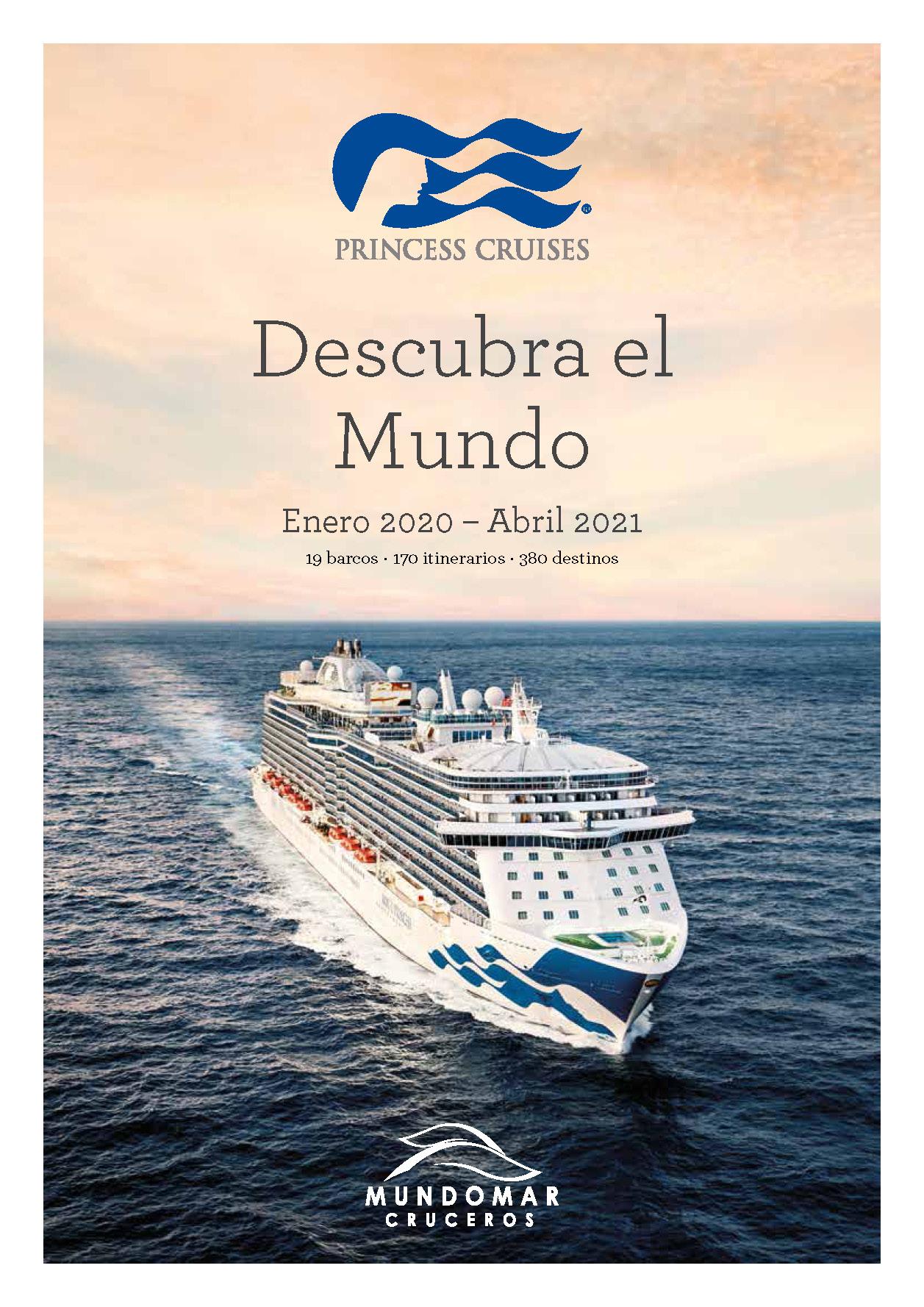 Catalogo Princess Cruises 2020-2021