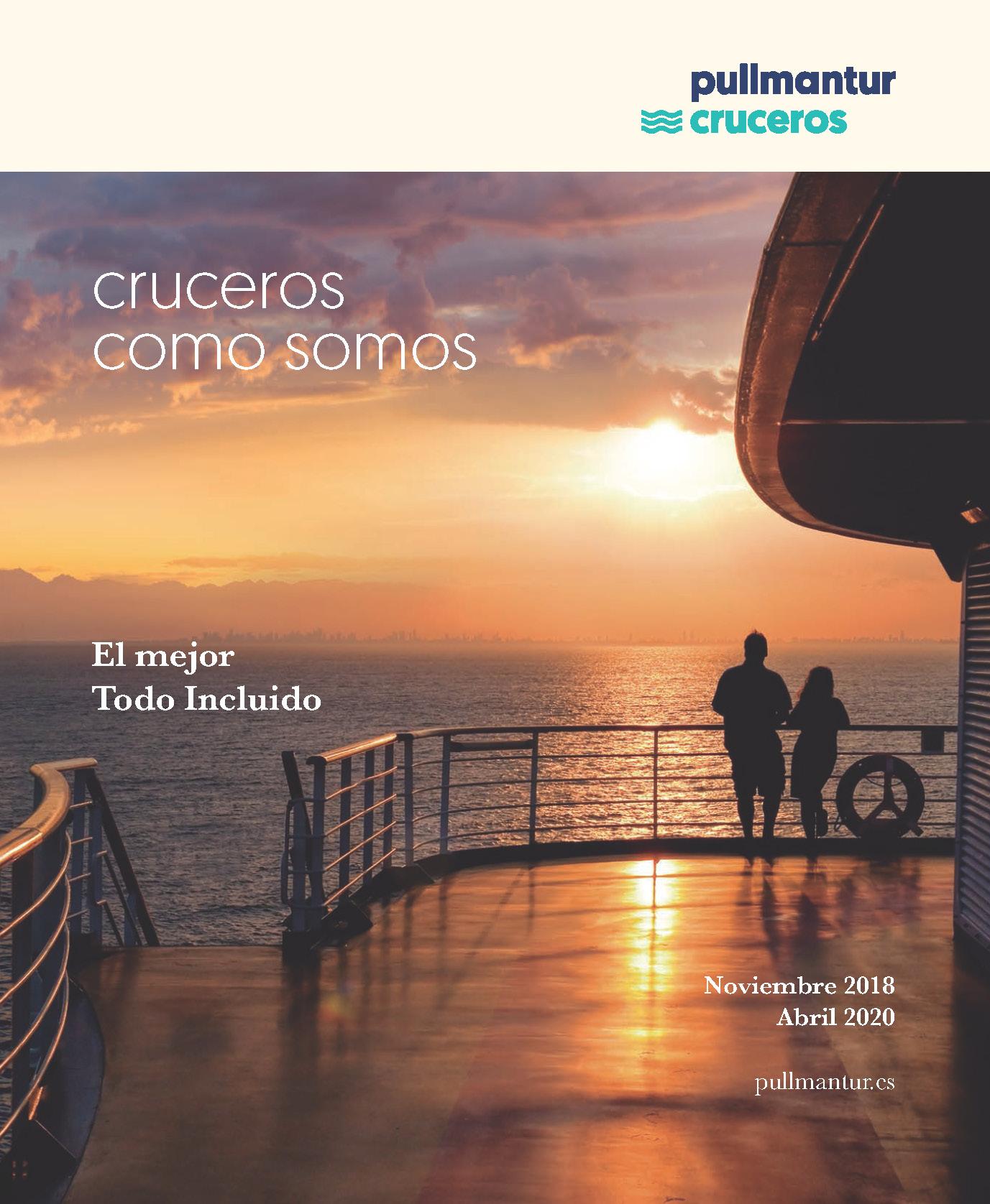 Catalogo Pullmantur Cruceros 2018-2020