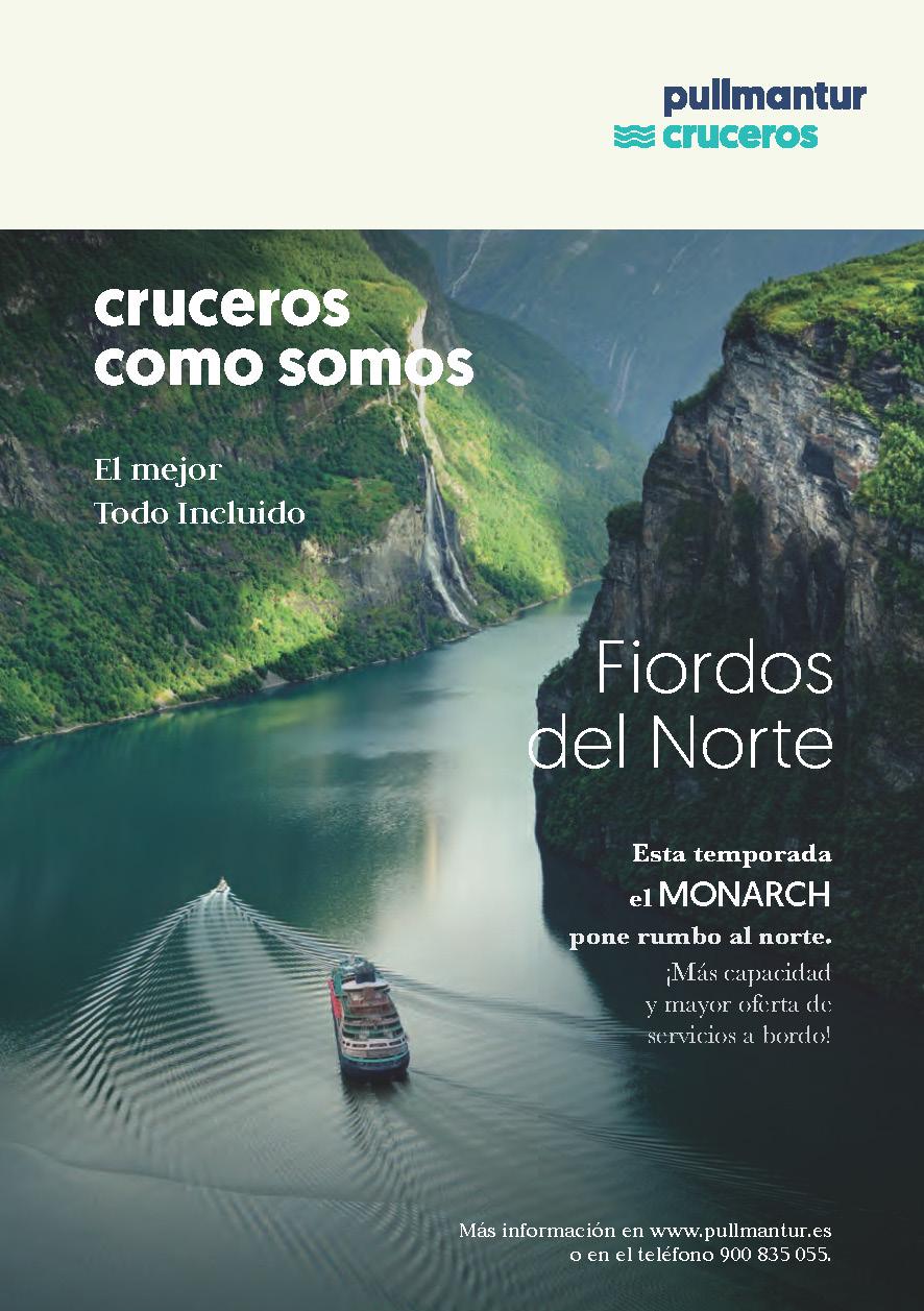 Catalogo Pullmantur Cruceros Maritimos Fiordos Noruegos 2019-2021