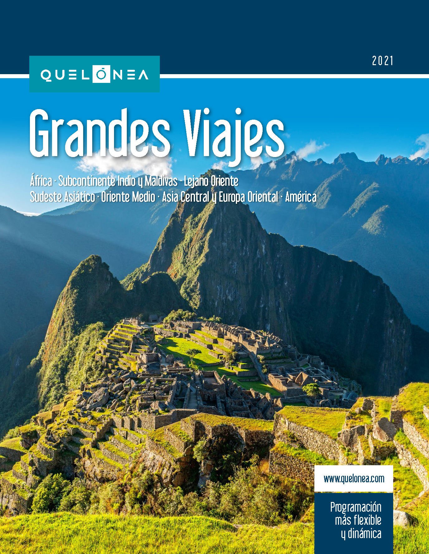Catalogo Quelonea Grandes Viajes 2021