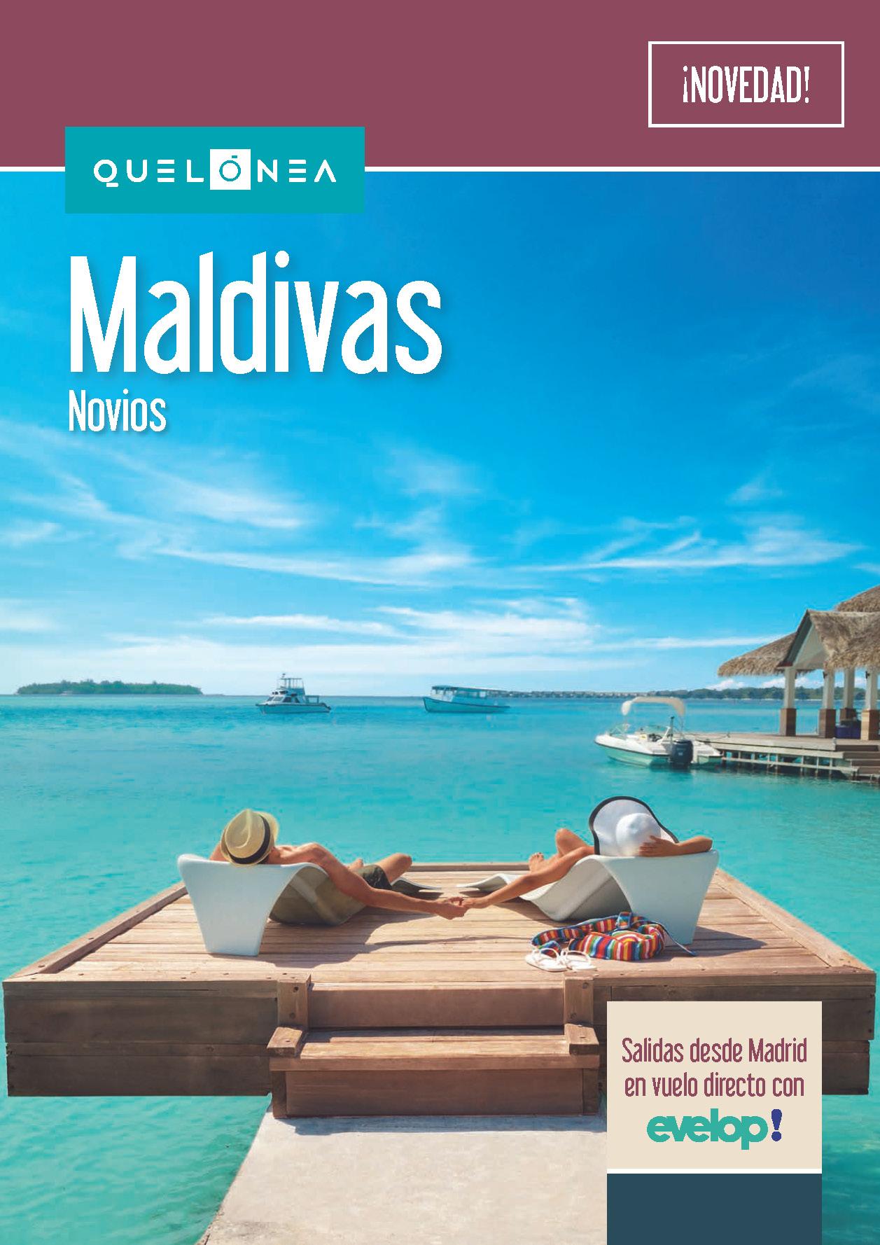 Catalogo Quelonea Novios Maldivas 2018