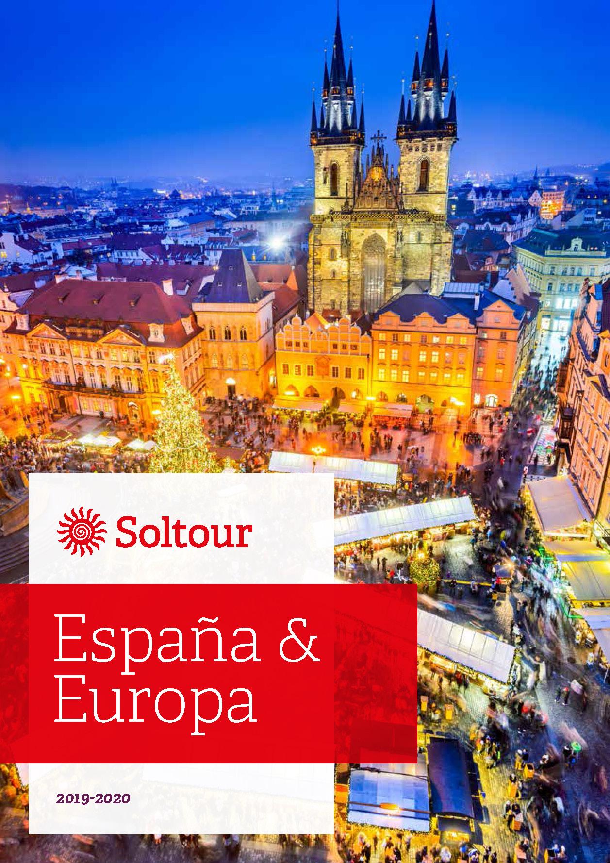 Catalogo Soltour Europa y Espana 2019-2020