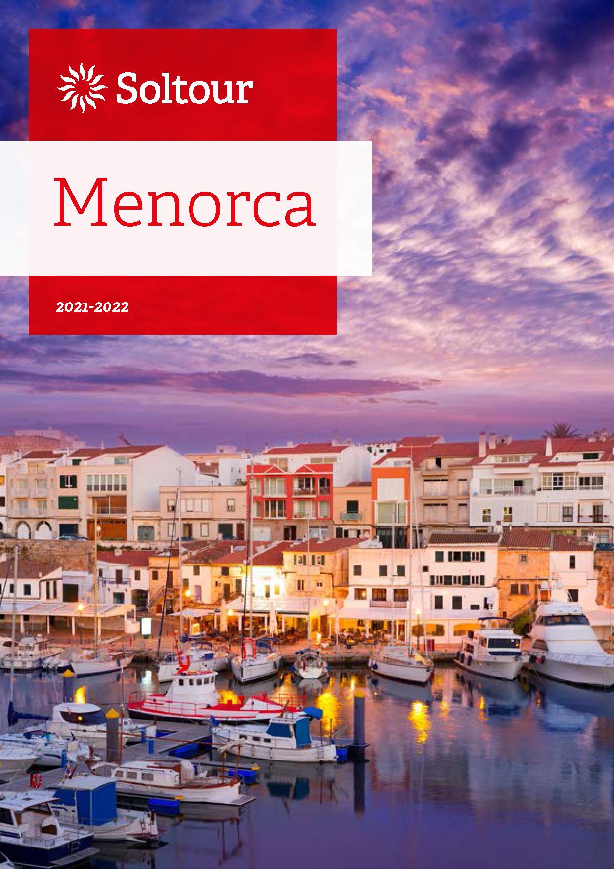 Catalogo Soltour Menorca 2021-2022