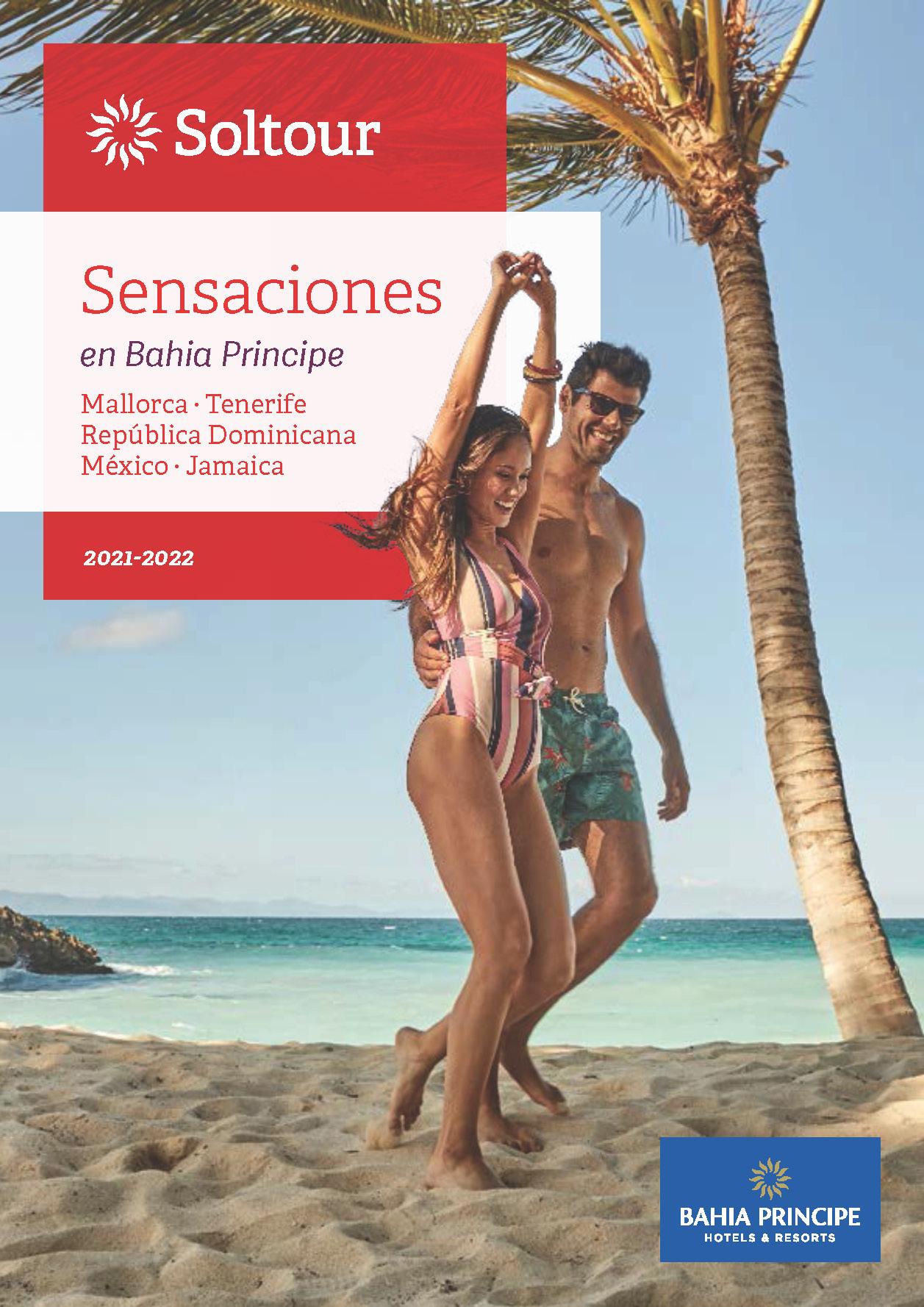 Catalogo Soltour Sensaciones Mallorca Tenerife Republica Dominicana Mexico Jamaica 2021-2022