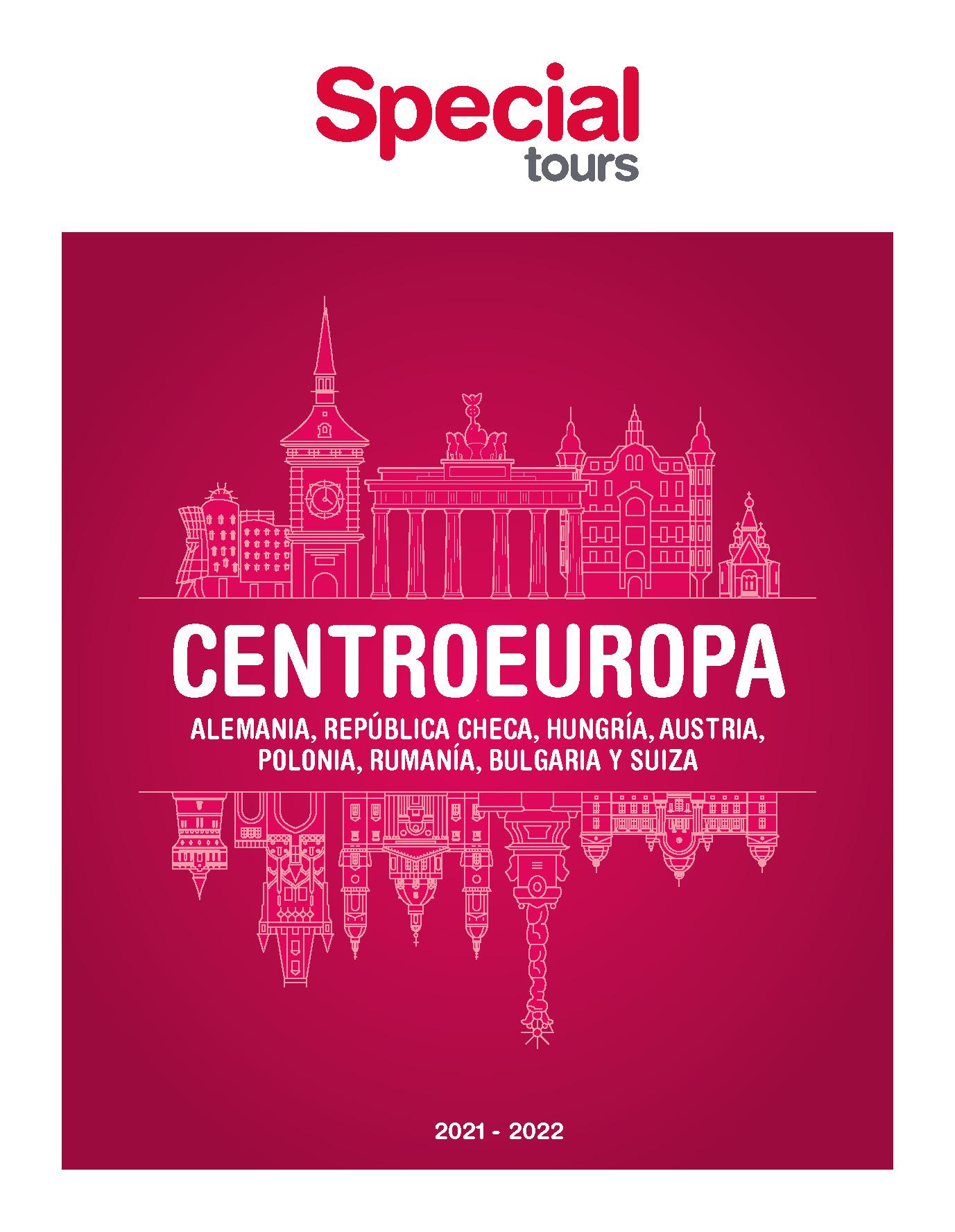 Catalogo Special Tours Centroeuropa 2021-2022