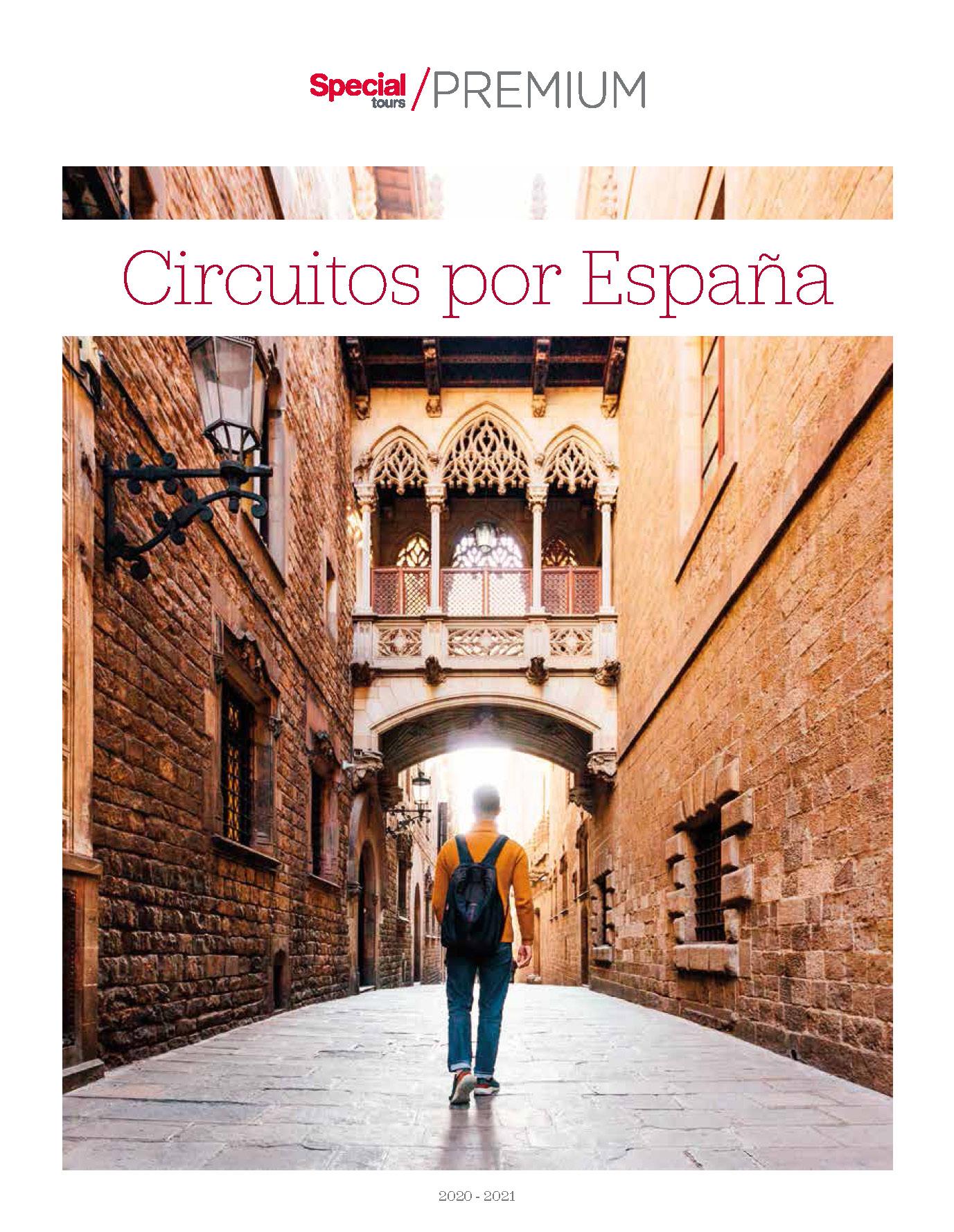 Catalogo Special Tours Circuitos por Espana Premium 2021