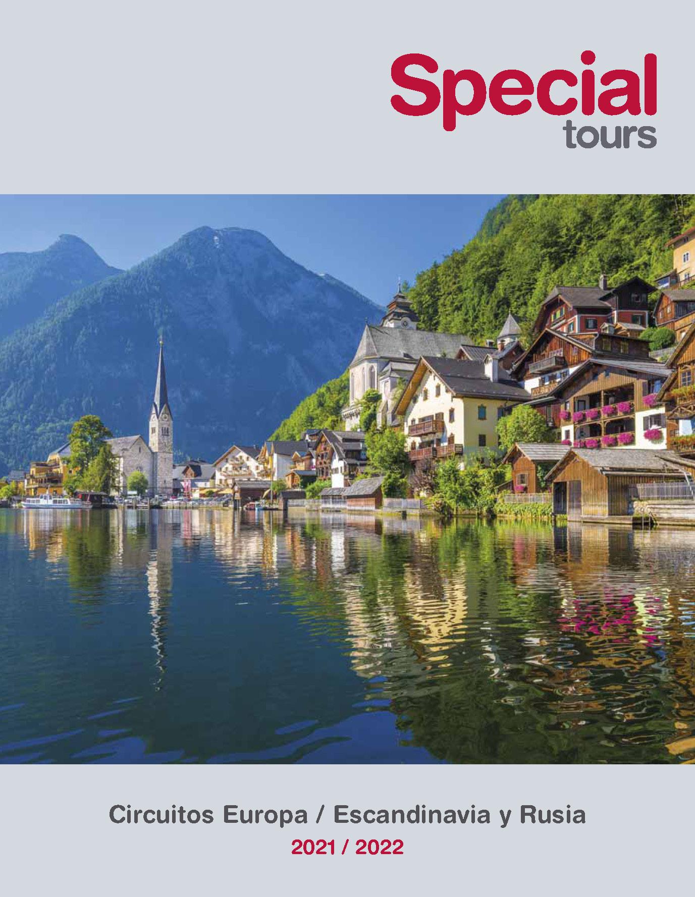 Catalogo Special Tours Europa Escandinavia y Rusia 2021-2022