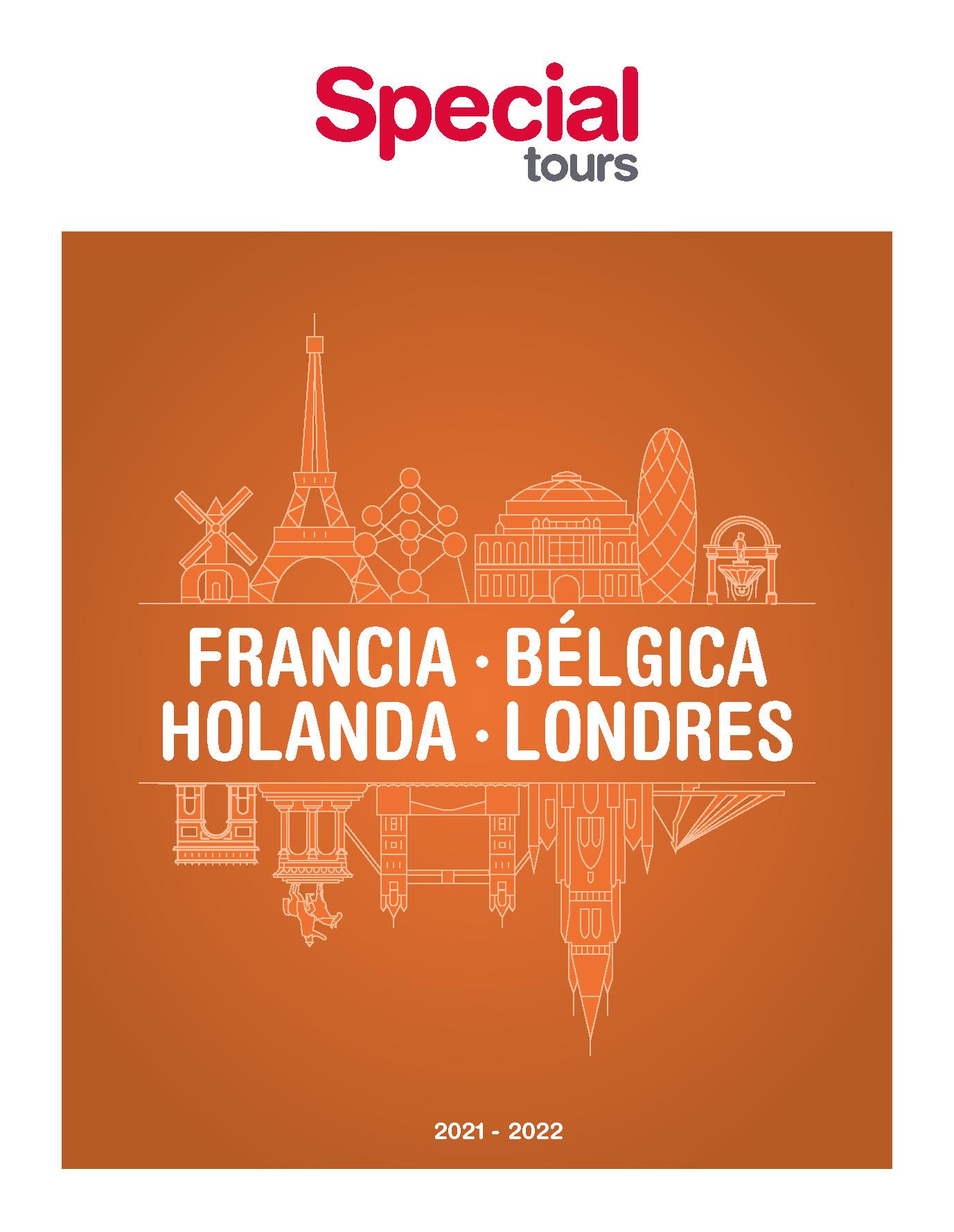 Catalogo Special Tours Francia Belgica y Holanda 2021-2022