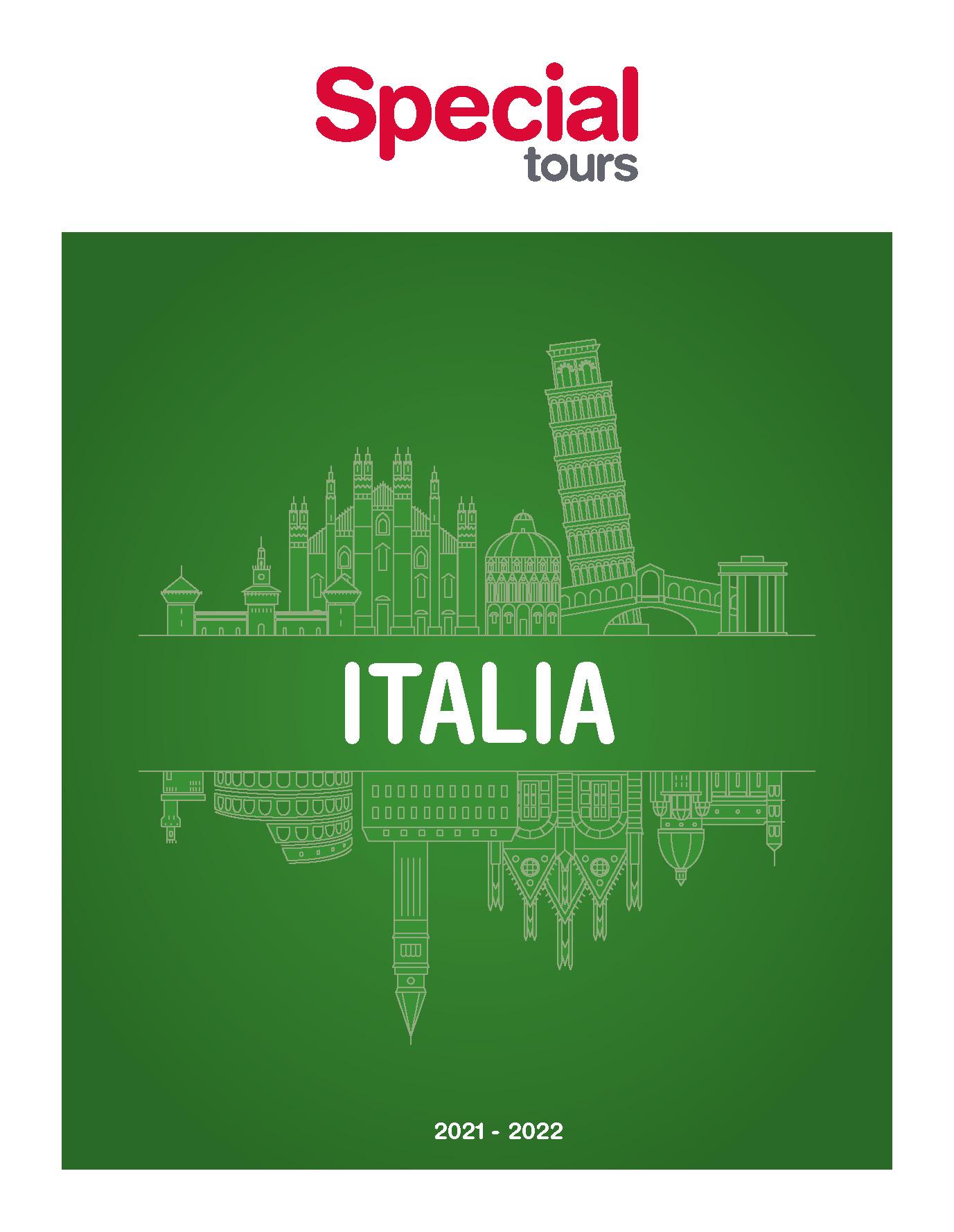 Catalogo Special Tours Italia 2021-2022