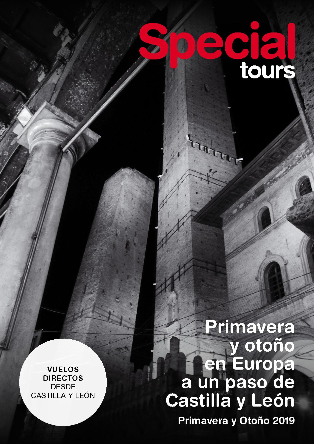 Catalogo Special Tours Primavera Otono Castilla Leon 2019
