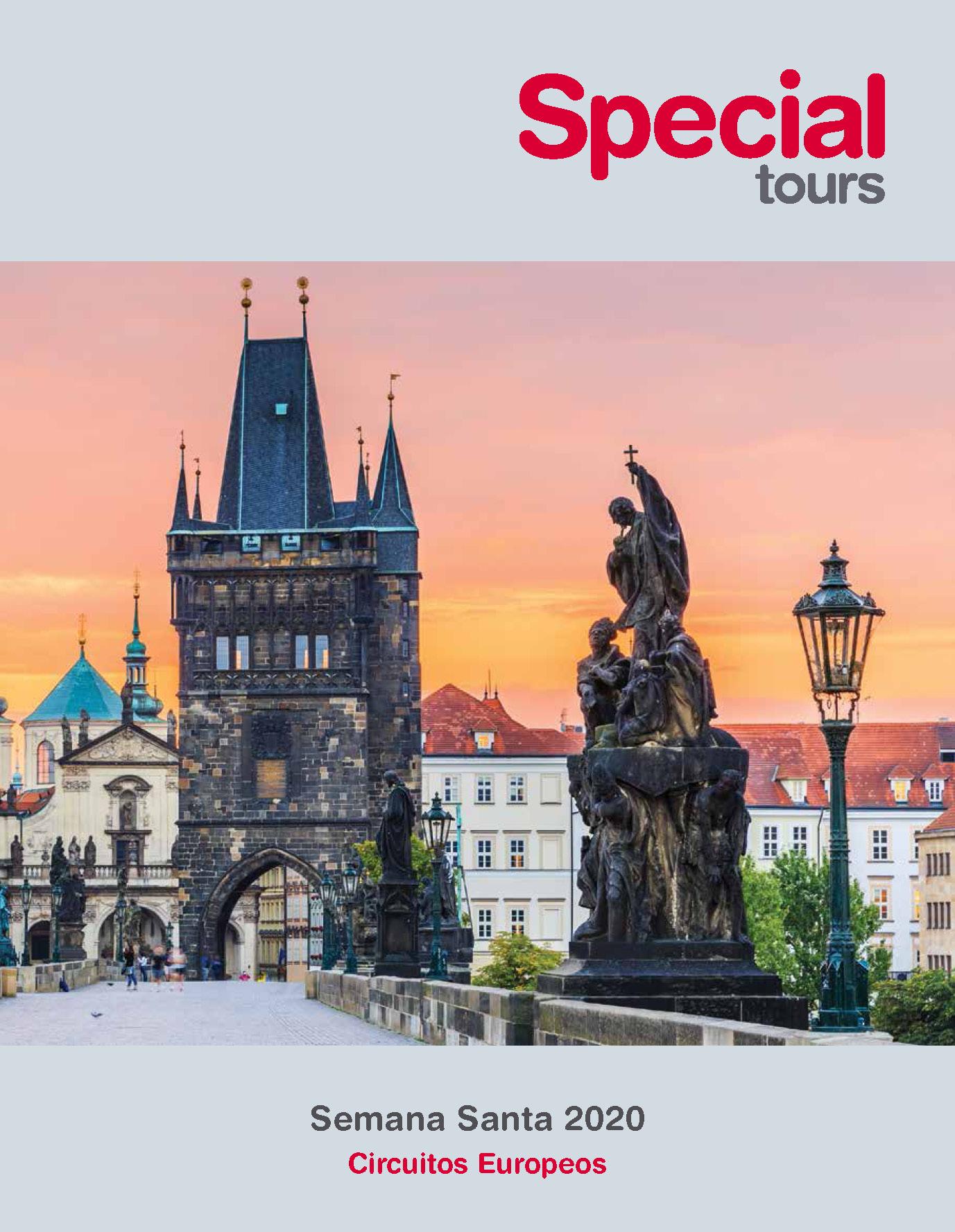 Catalogo Special Tours Semana Santa en Europa 2020