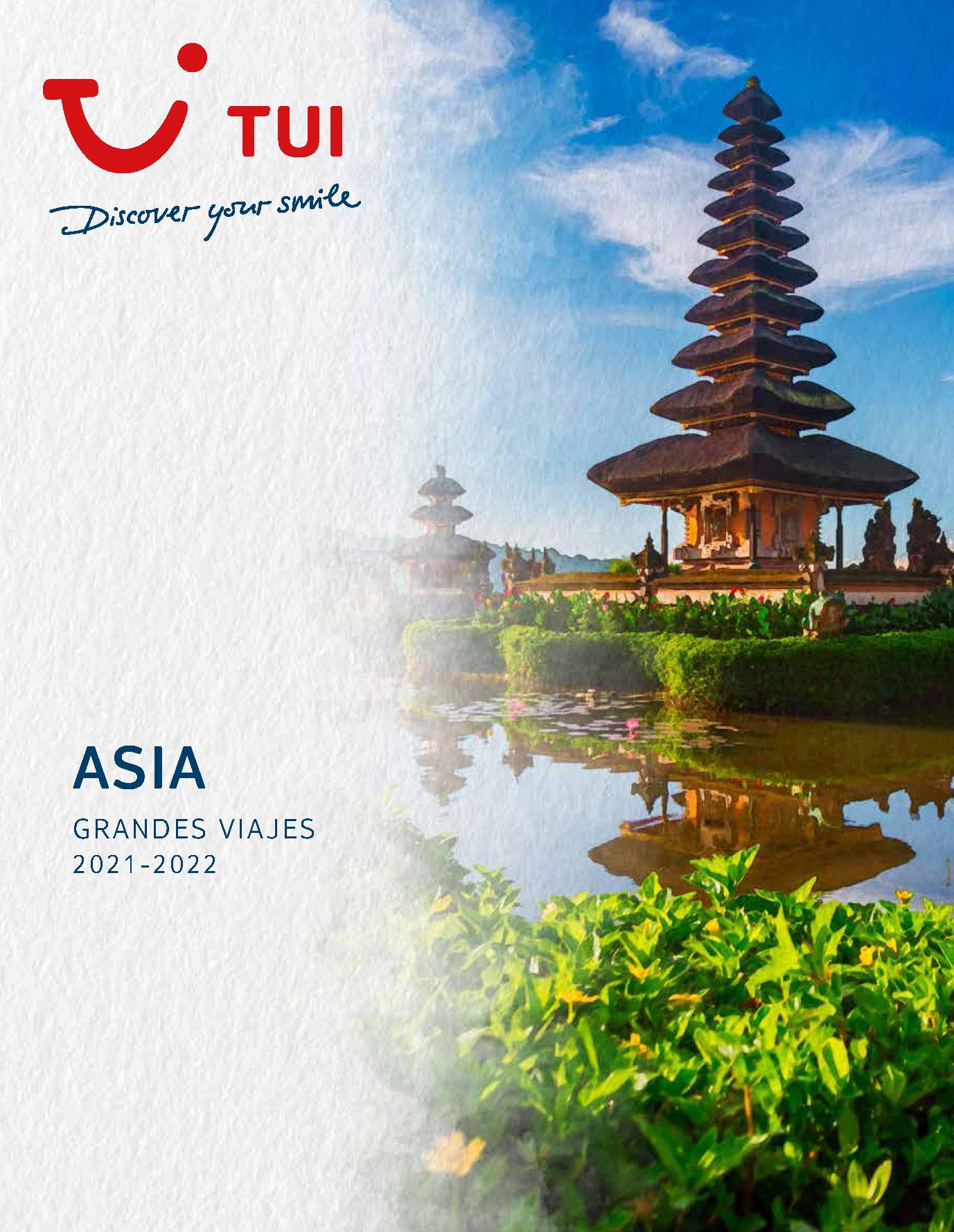 Catalogo TUI Ambassador Tours Asia 2021-2022