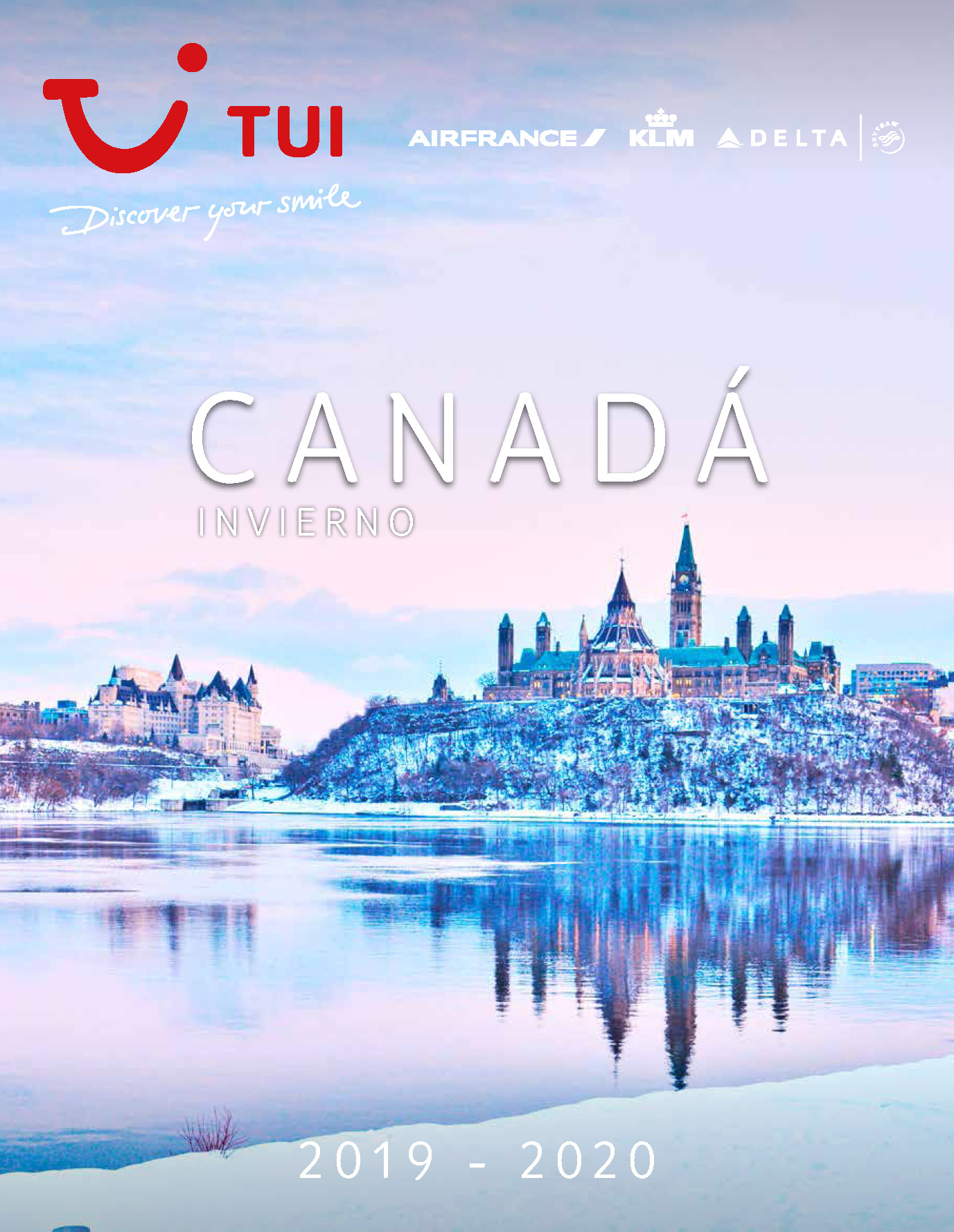 Catalogo TUI Ambassador ours Canada Invierno 2019-2020
