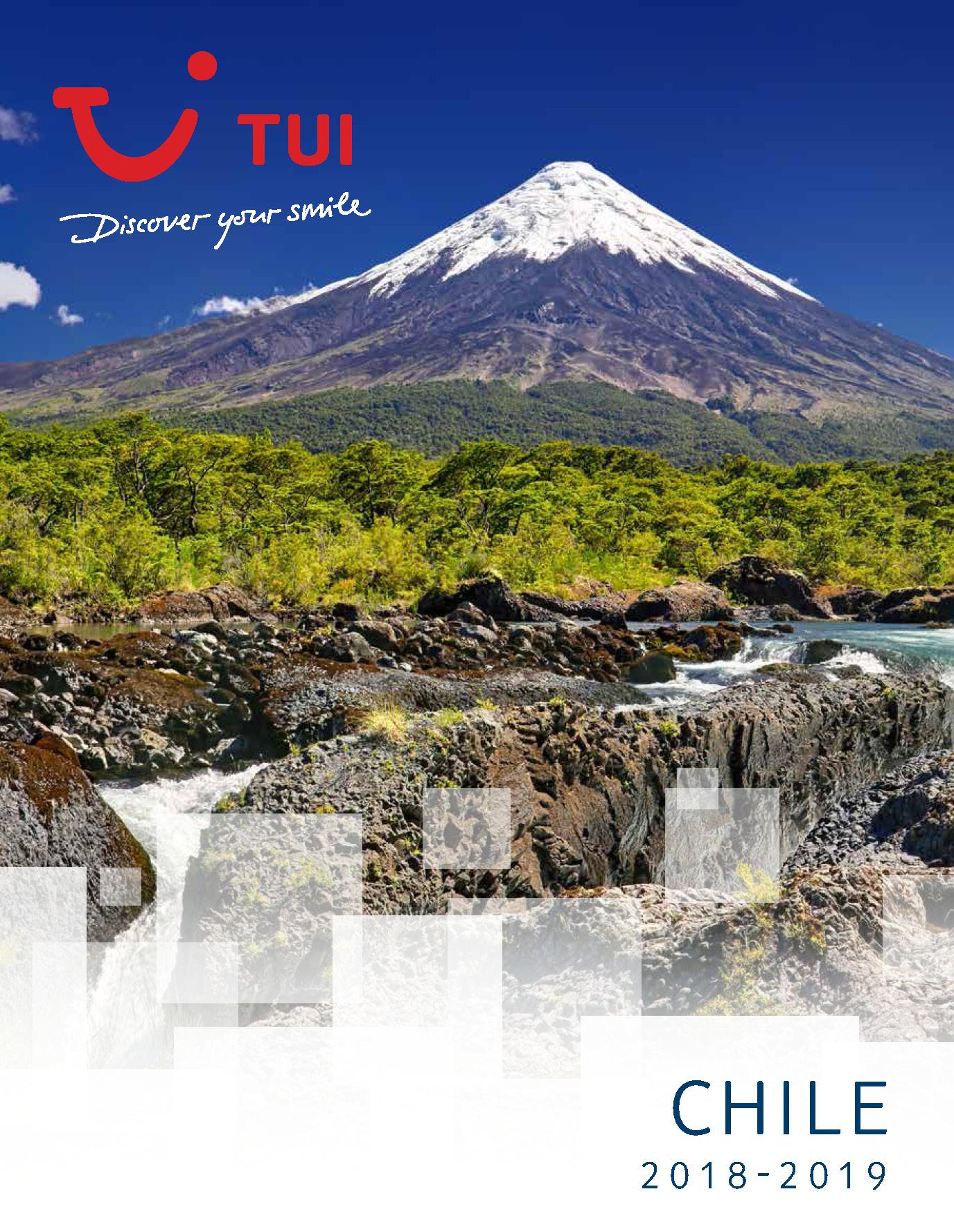 Catalogo TUI Ambassador Tours Chile 2018-2019