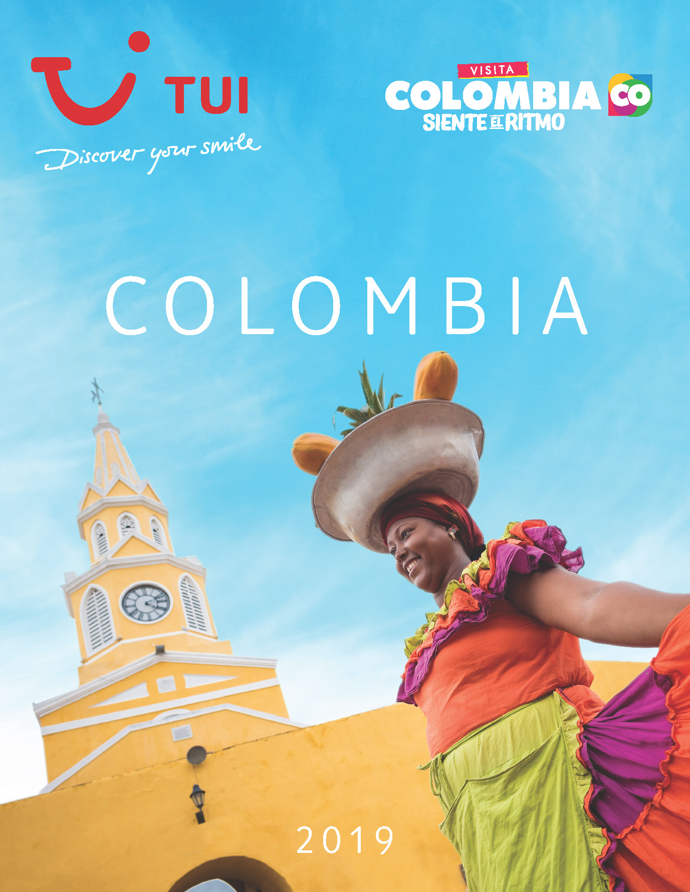 Catalogo TUI Ambassador Tours Colombia 2019