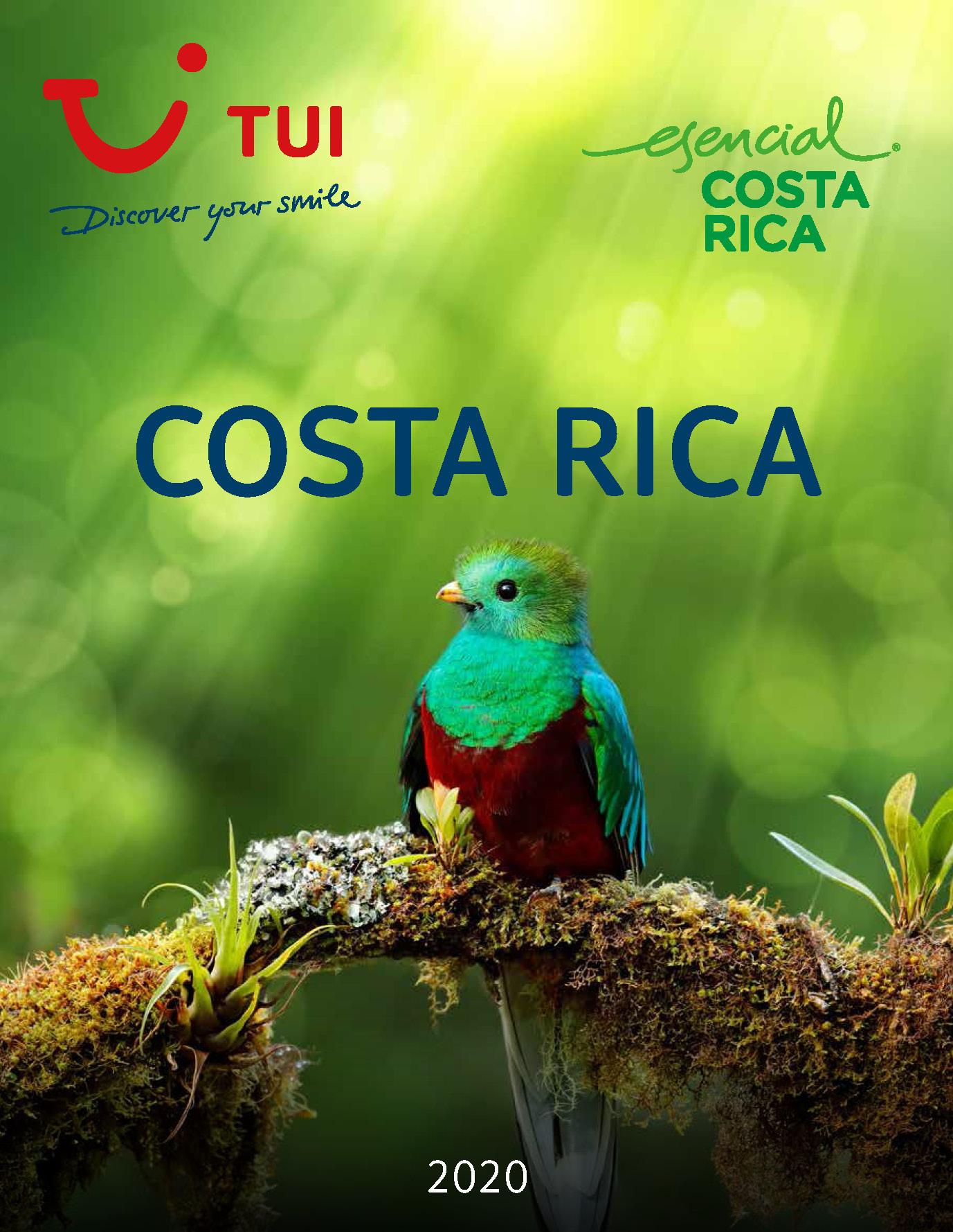 Catalogo TUI Ambassador Tours Costa Rica 2020