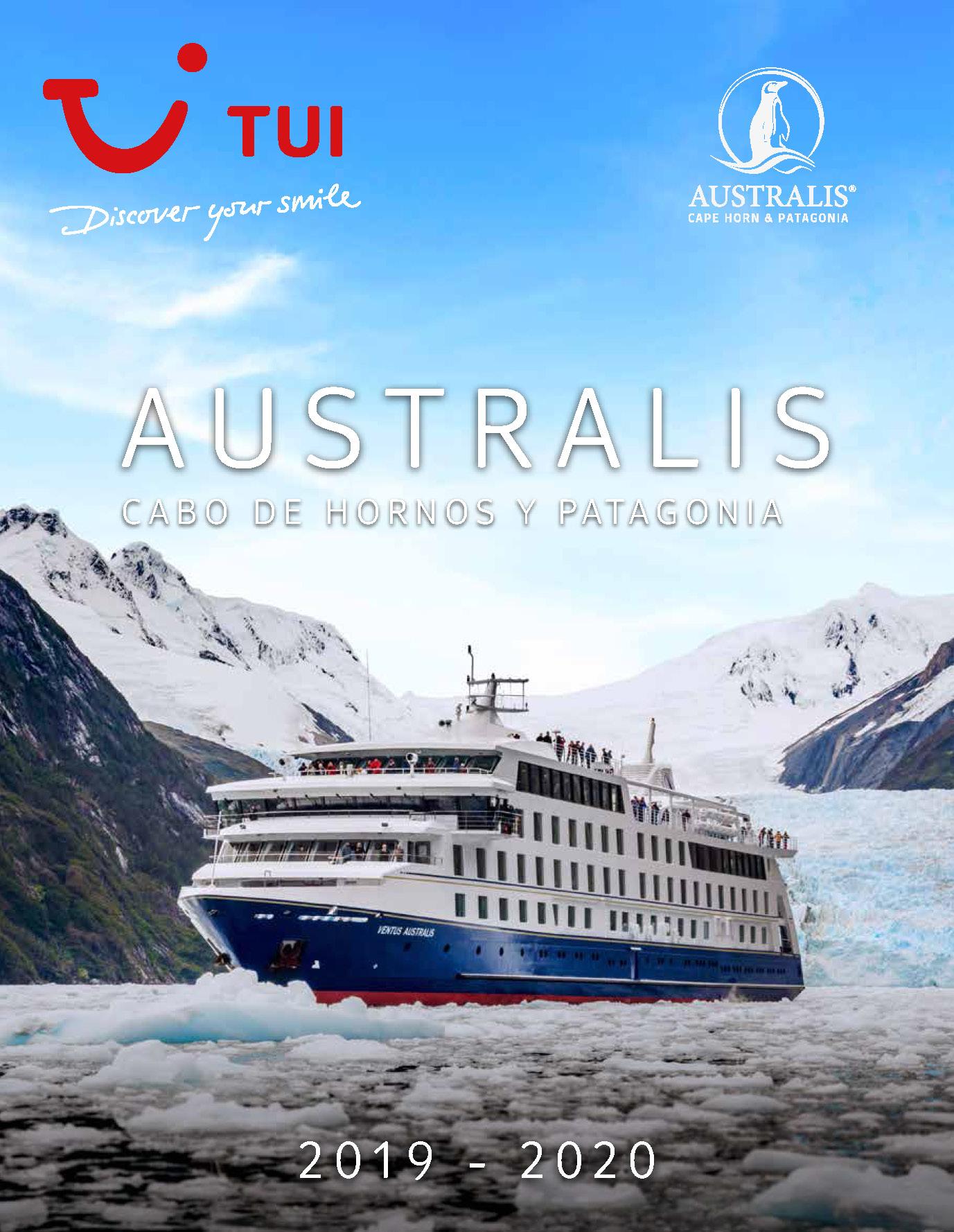 Catalogo TUI Ambassador Tours Cruceros Australis 2019-2020