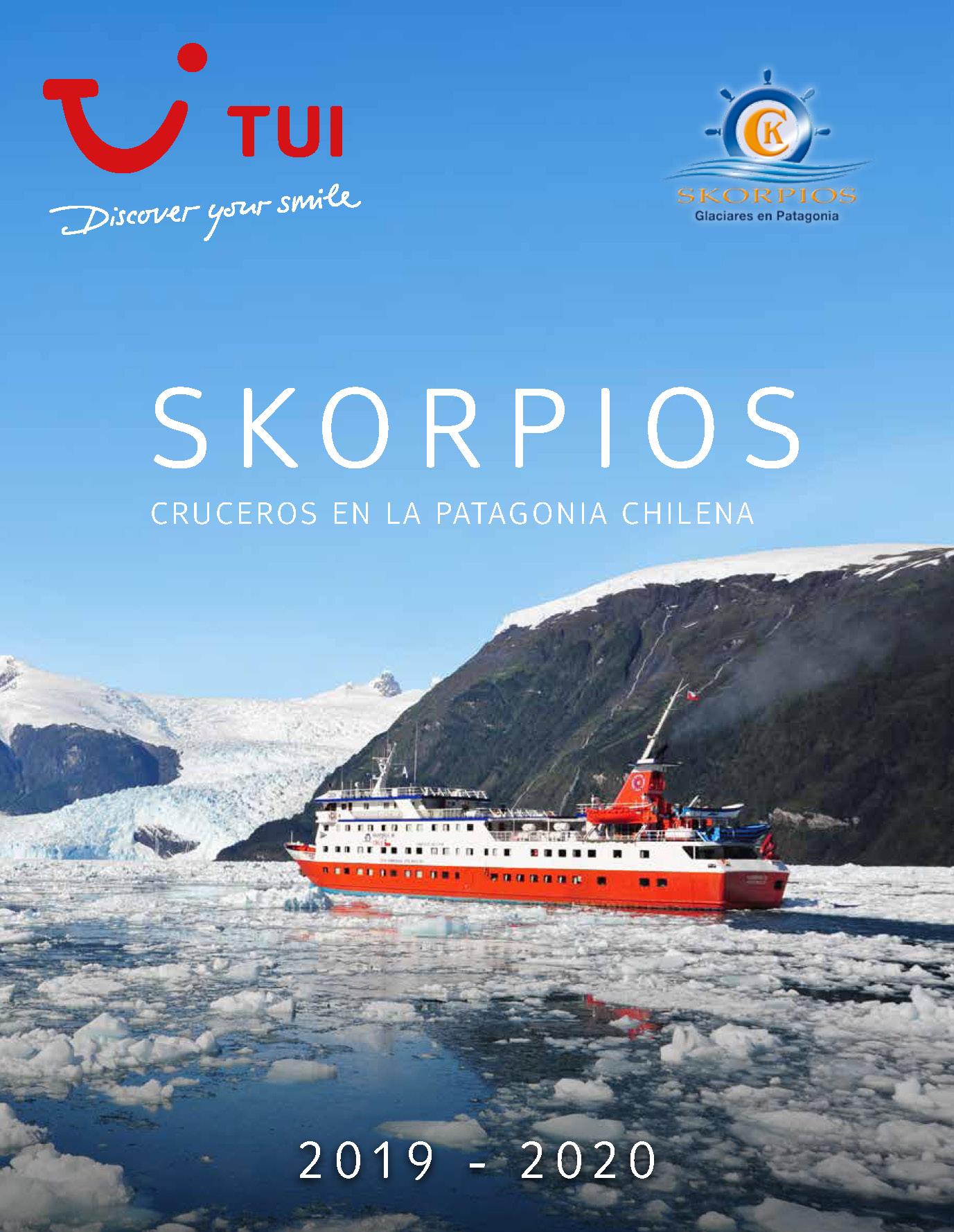 Catalogo TUI Ambassador Tours Cruceros Skorpios 2019-2020