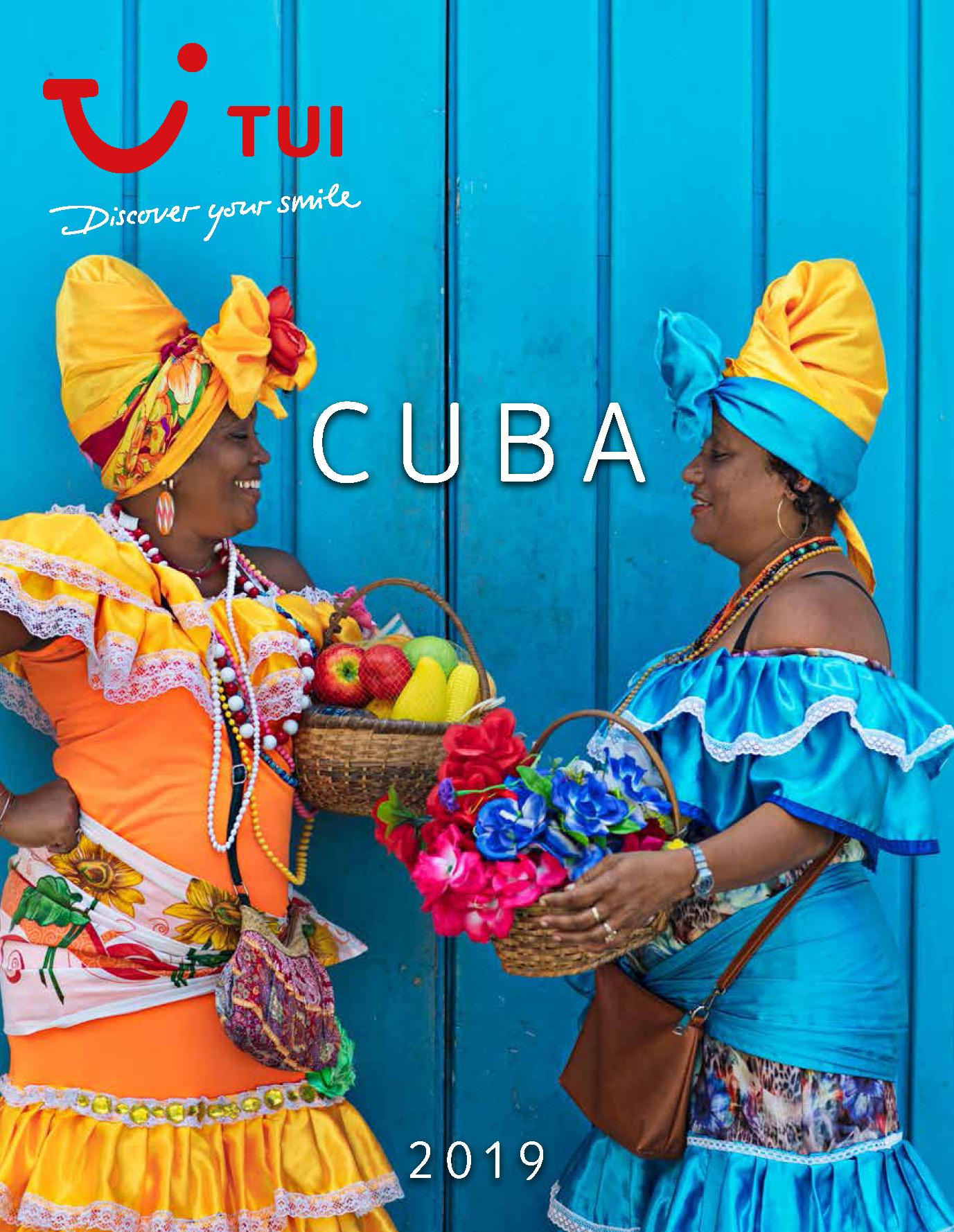 Catalogo TUI Ambassador Tours Cuba 2019