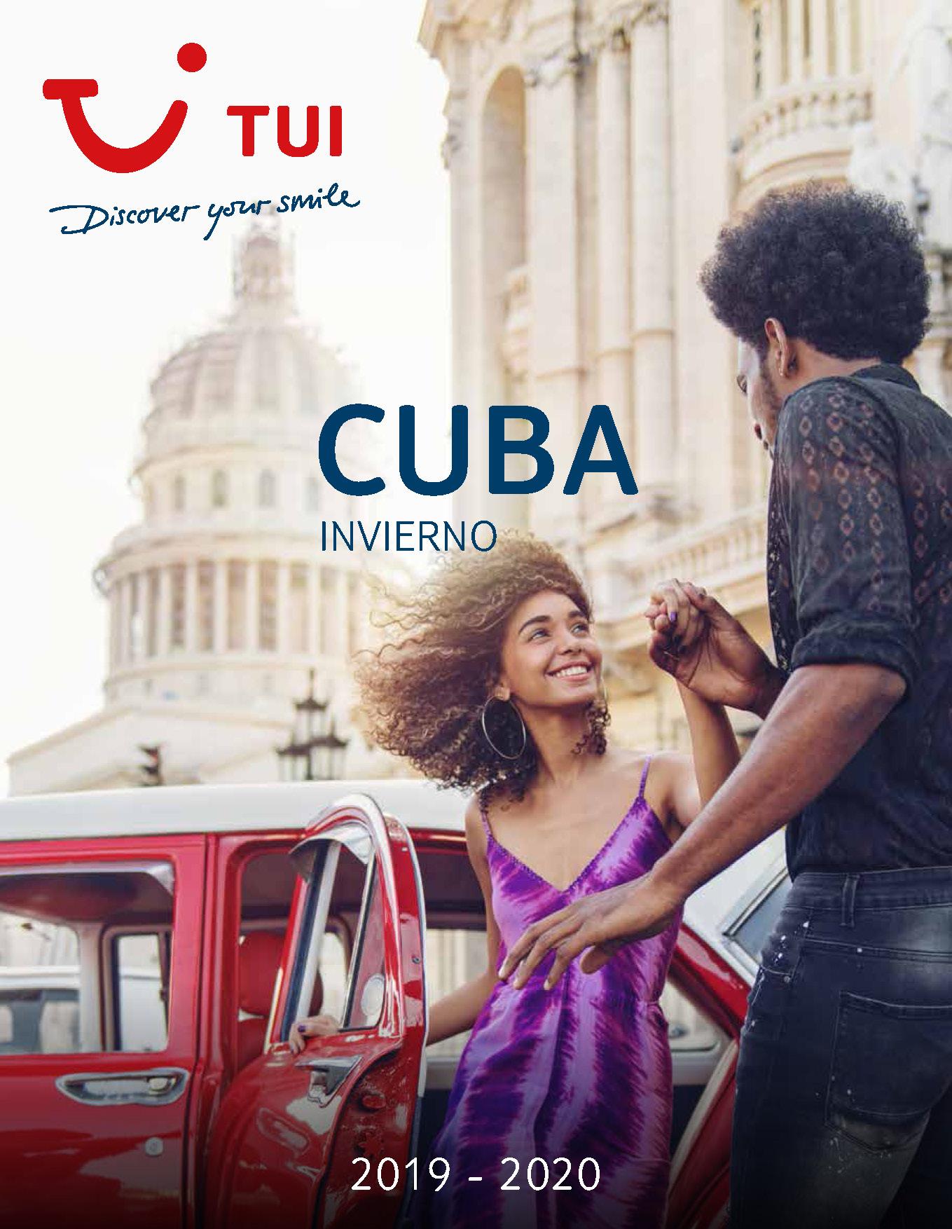 Catalogo TUI Ambassador Tours Cuba Invierno 2019-2020