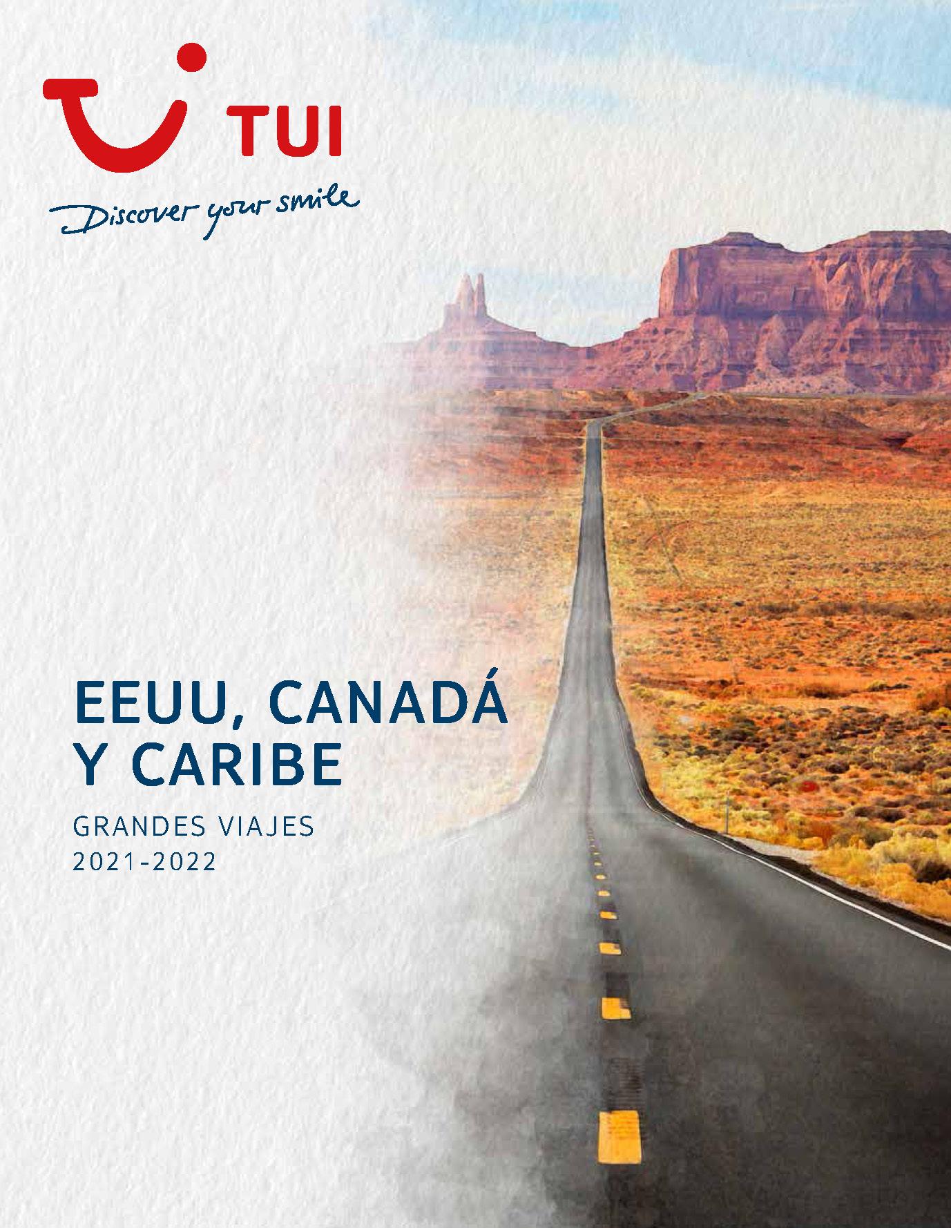 Catalogo TUI Ambassador Tours Estados Unidos Canada y Caribe 2021-2022