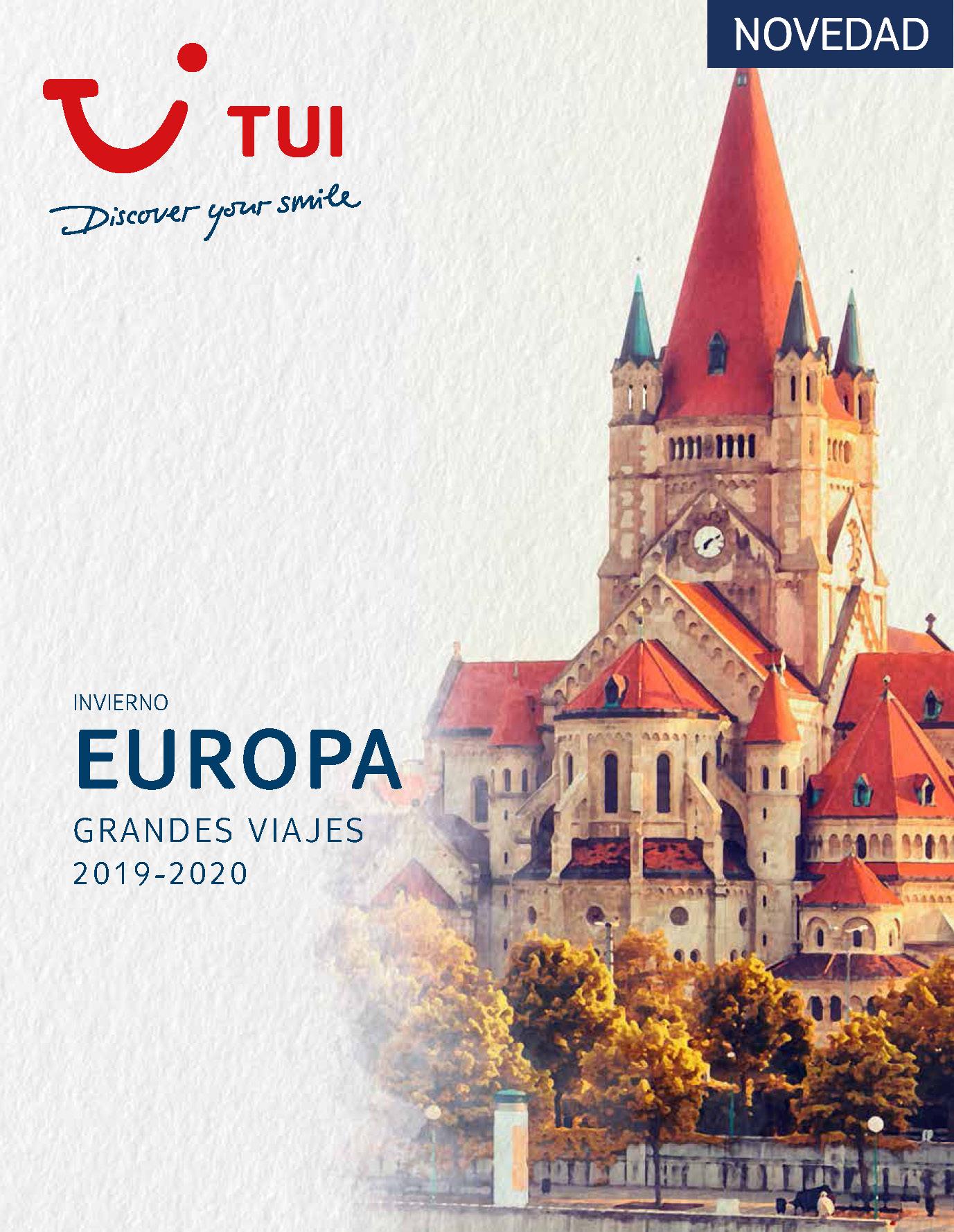 Catalogo TUI Ambassador Tours Europa 2019-2020