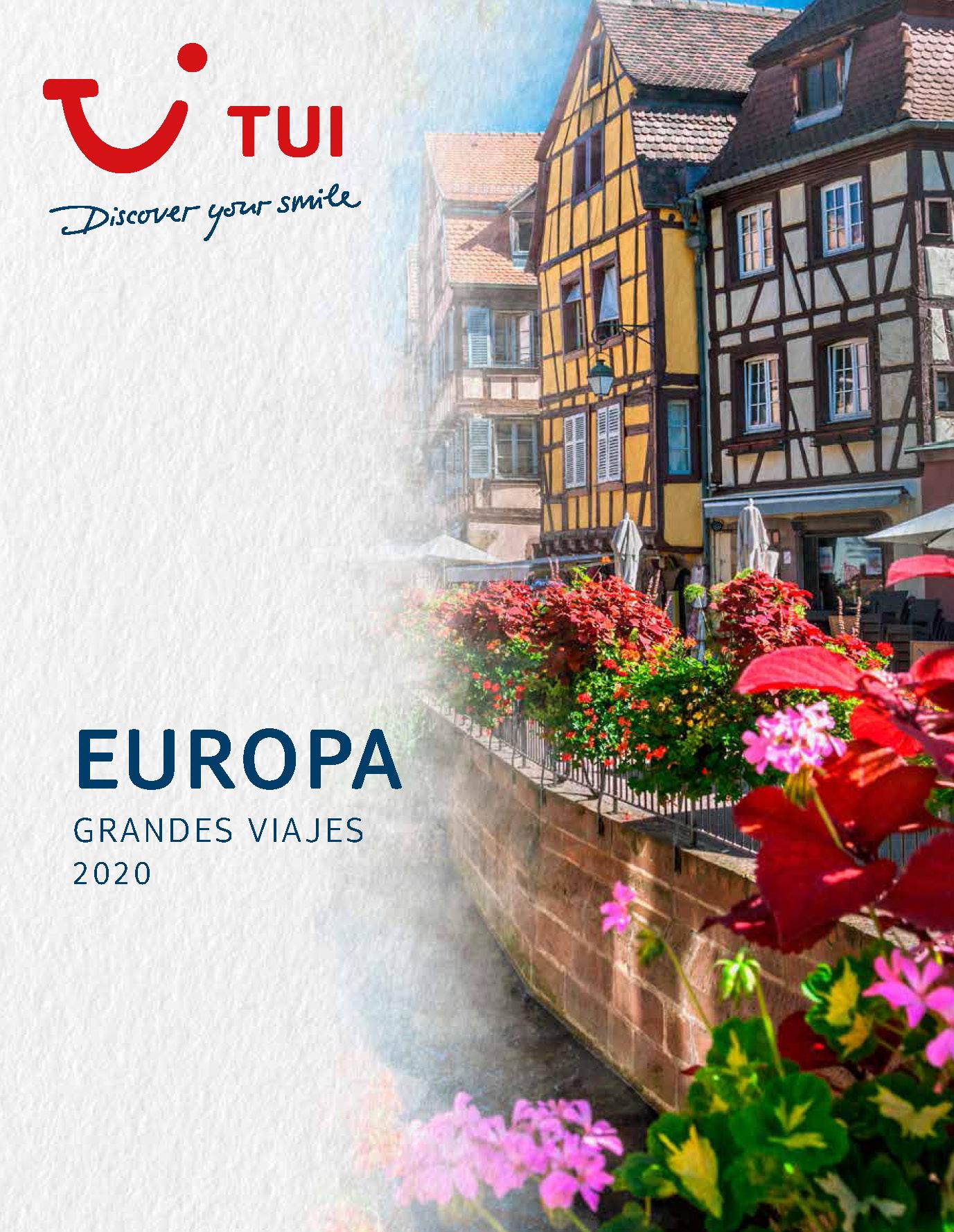 Catalogo TUI Ambassador Tours Europa 2020
