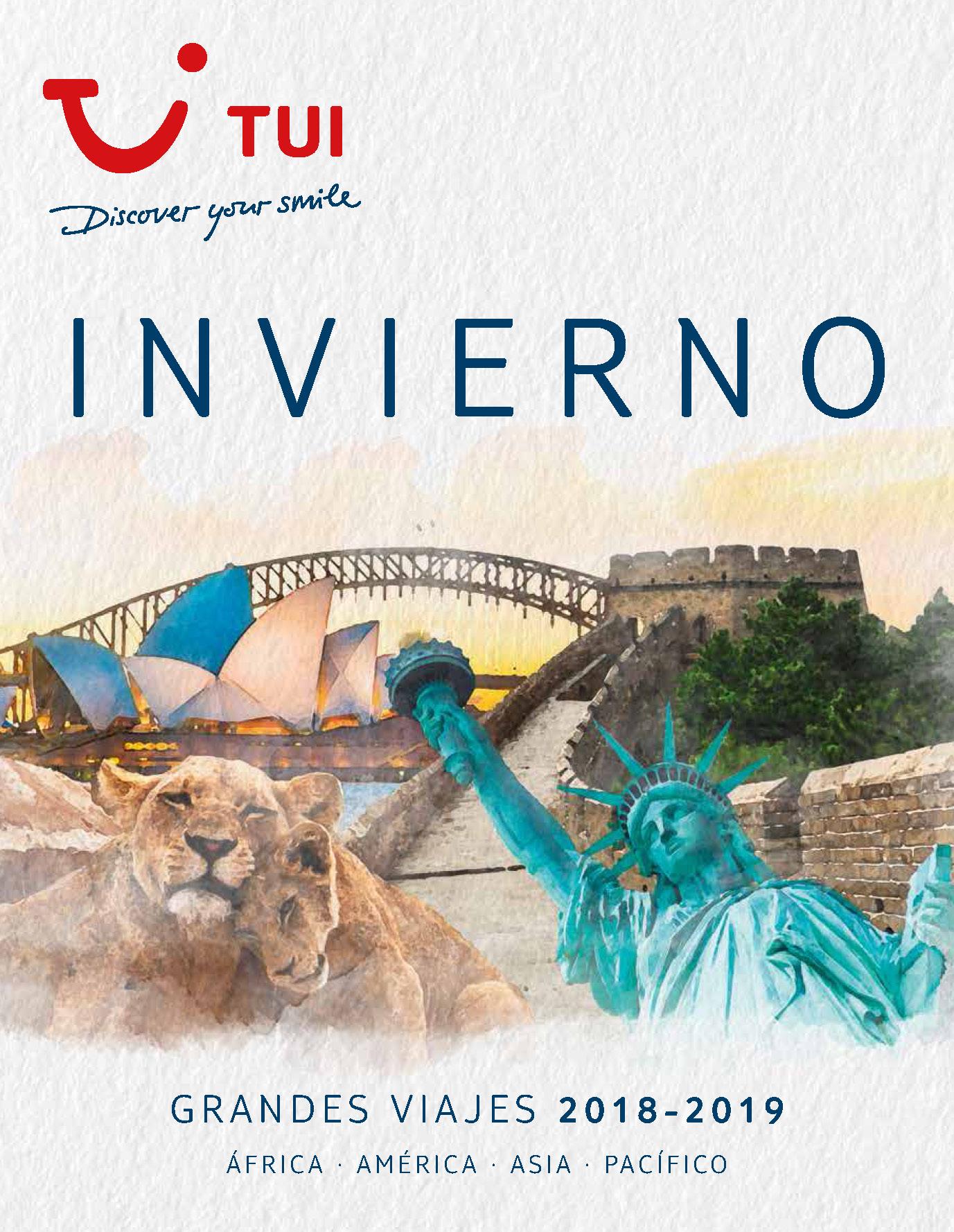 Catalogo TUI Ambassador Tours Grandes Viajes Invierno 2018-2019