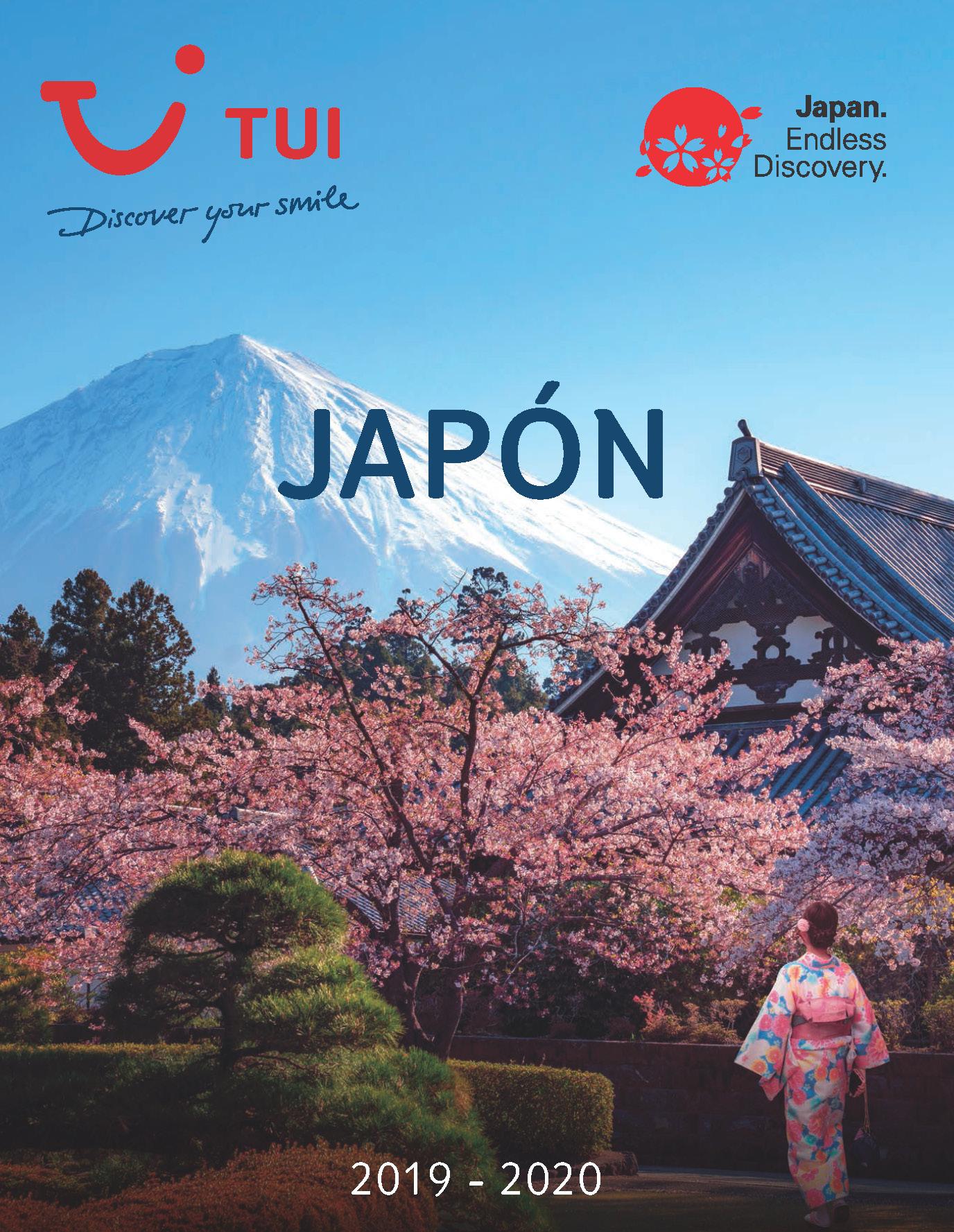 Catalogo TUI Ambassador Tours Japon 2020