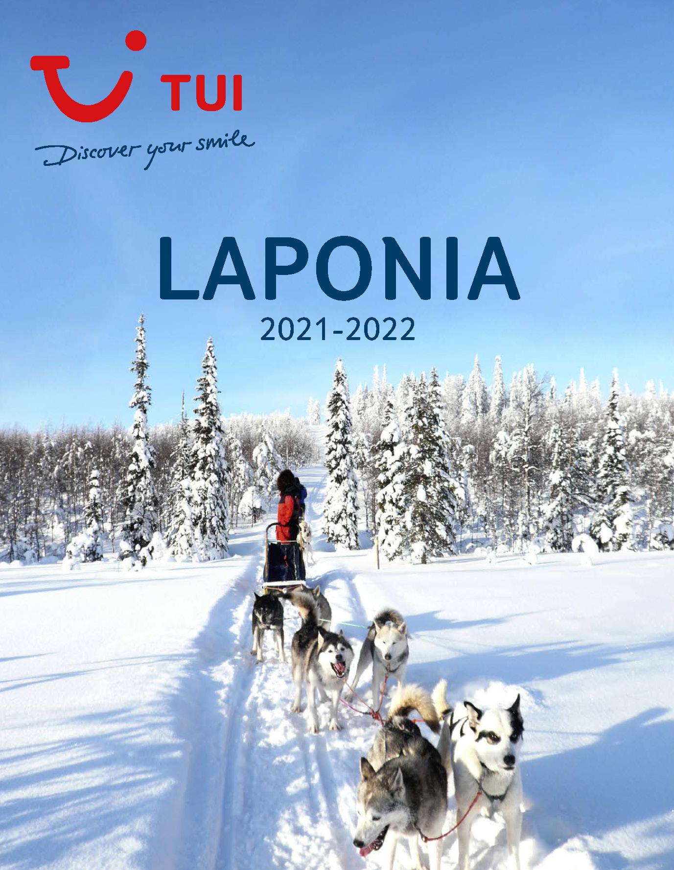Catalogo TUI Ambassador Tours Laponia 2021-2022