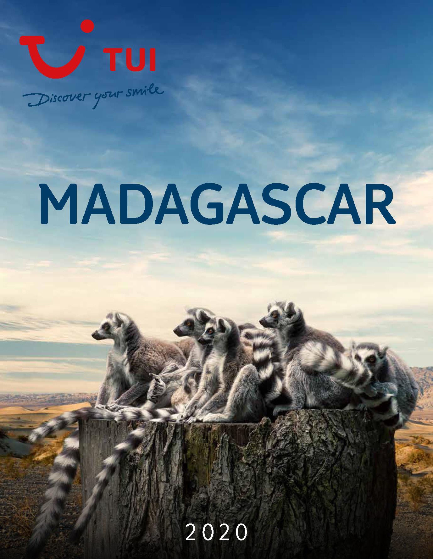 Catalogo TUI Ambassador Tours Madagascar 2020