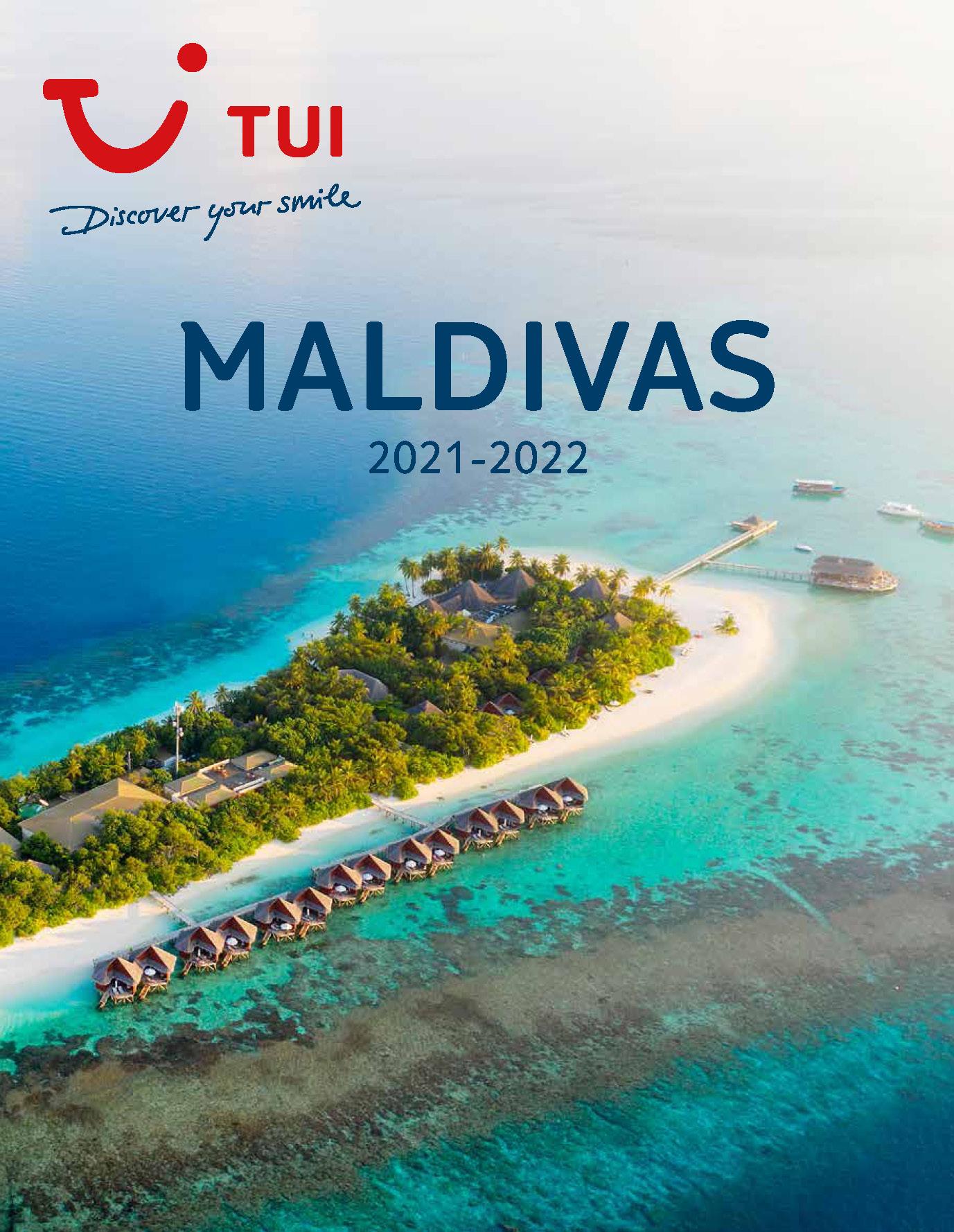 Catalogo TUI Ambassador Tours Maldivas 2021-2022