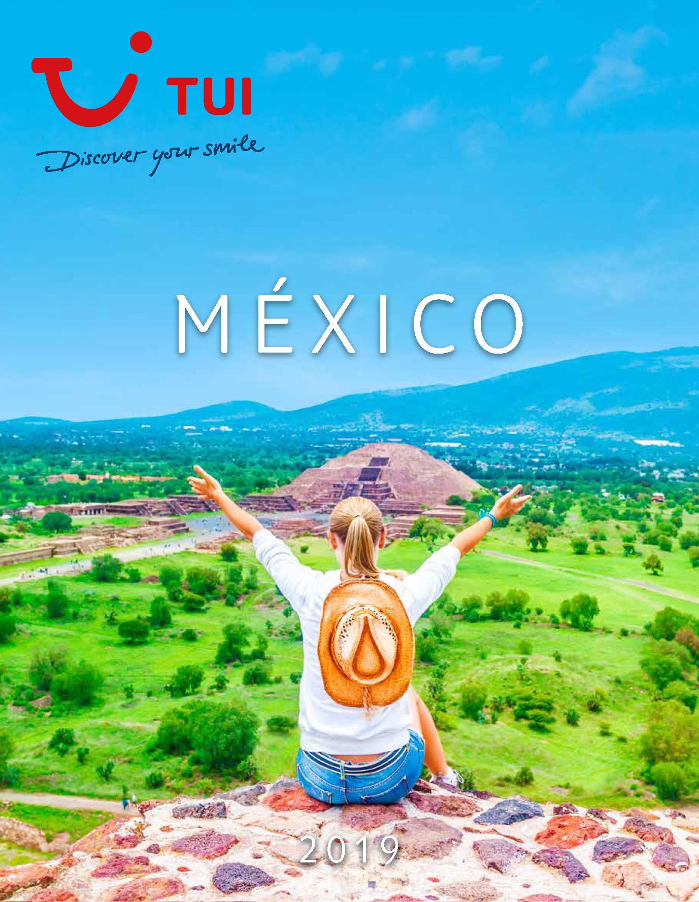 Catalogo TUI Ambassador Tours Mexico 2019