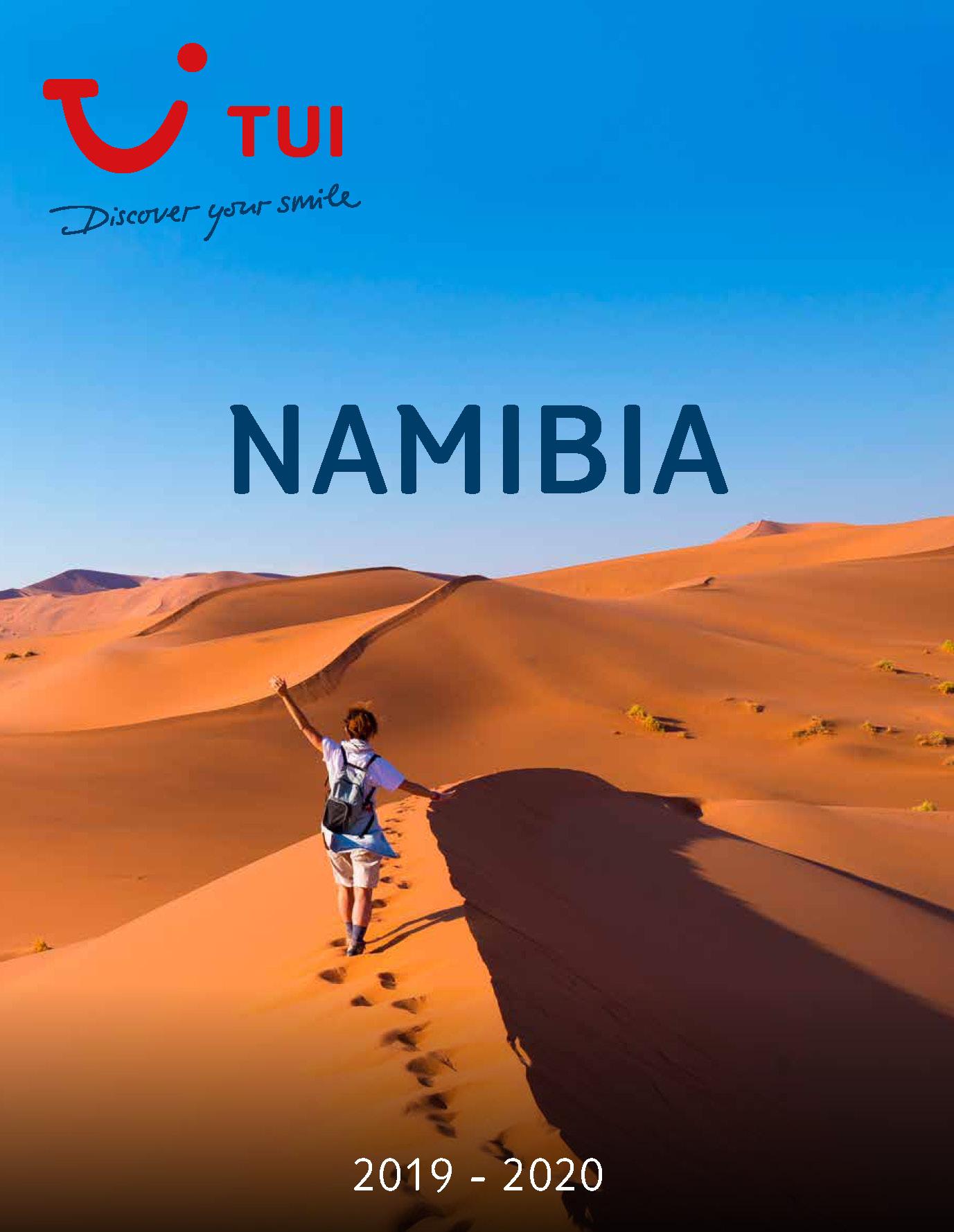 Catalogo TUI Ambassador Tours Namibia 2019-2020