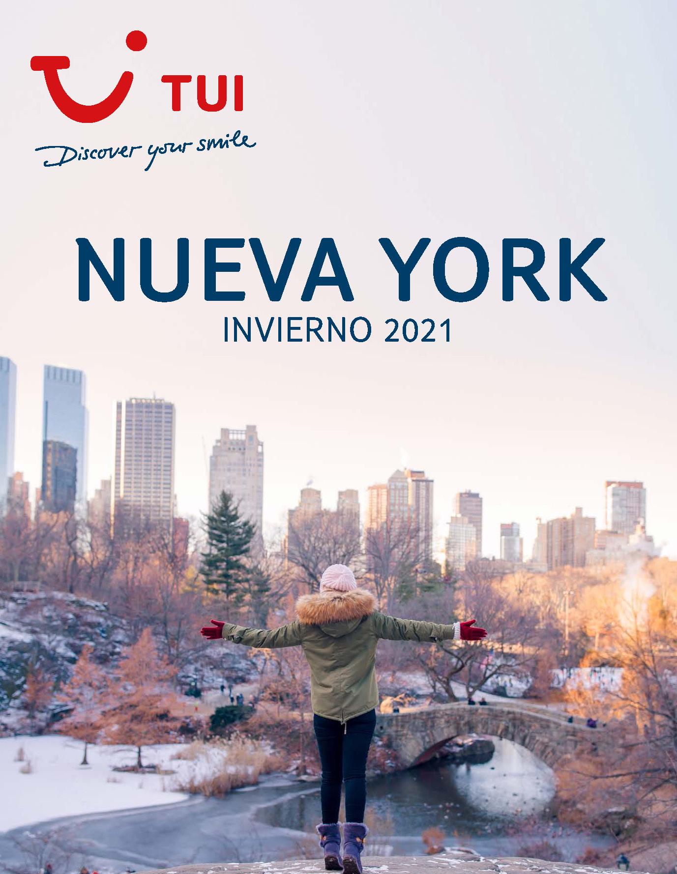 Catalogo TUI Ambassador Tours Nueva York Invierno 2021-2022