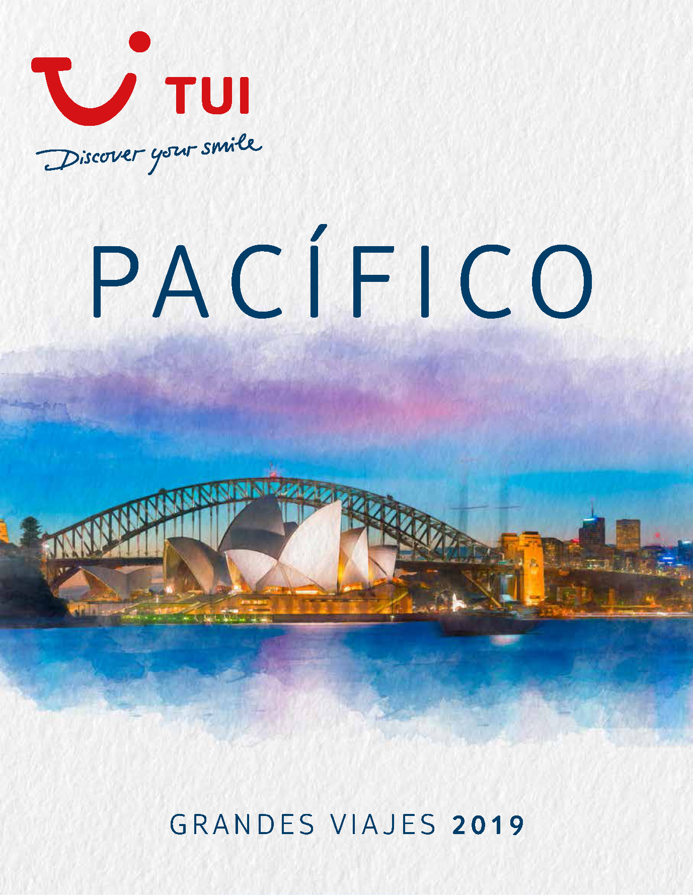 Catalogo TUI Ambassador Tours Pacifico 2019