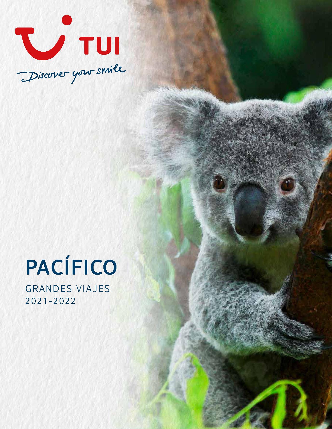 Catalogo TUI Ambassador Tours Pacifico 2021-2022