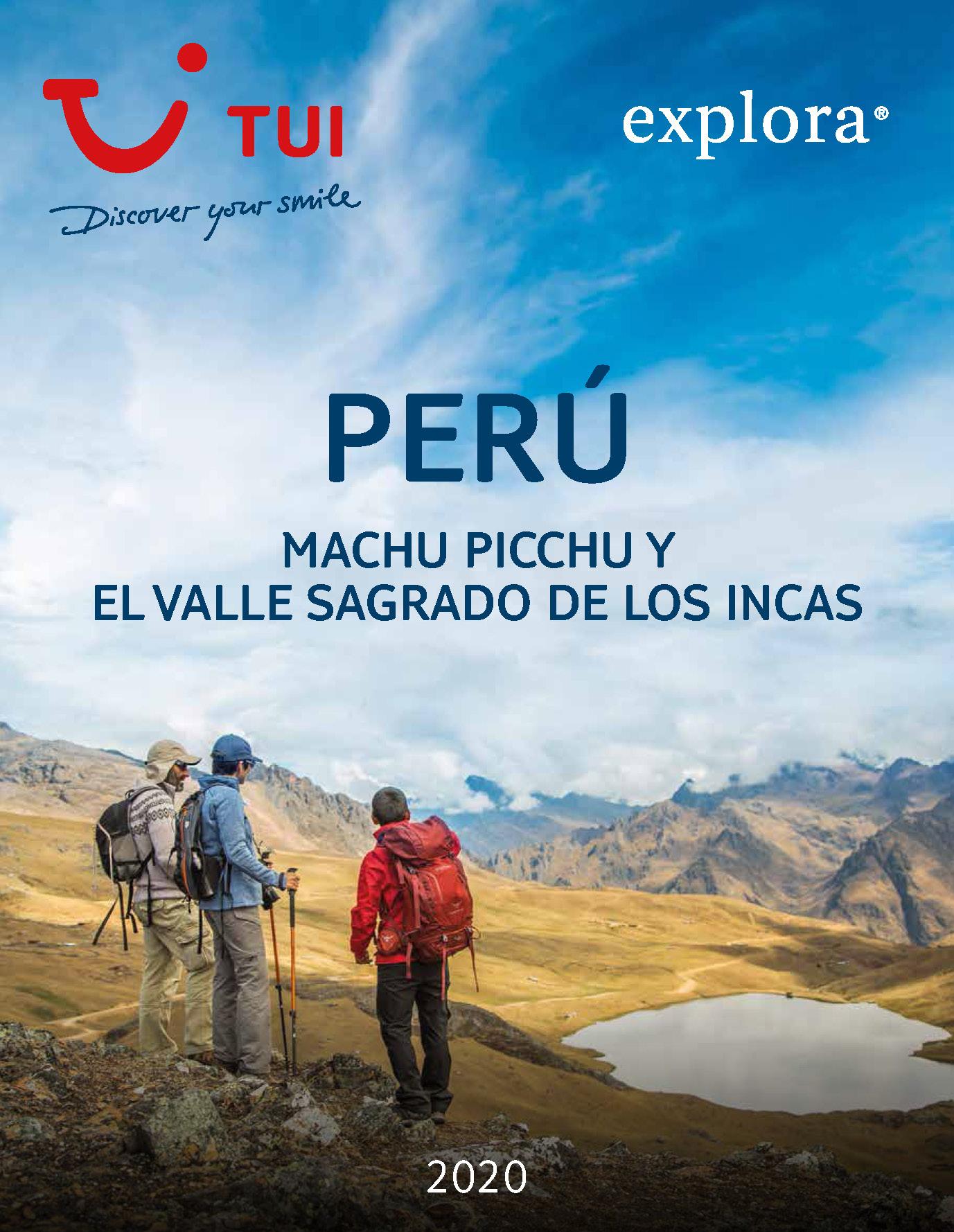 Catalogo TUI Ambassador Tours Peru Explora 2020