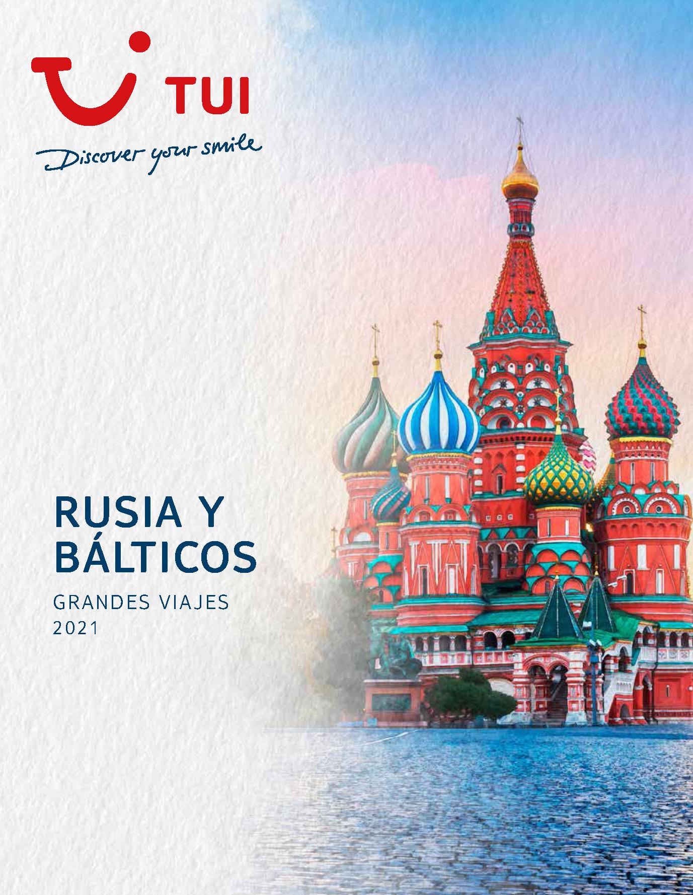 Catalogo TUI Ambassador Tours Rusia y Balticos 2021
