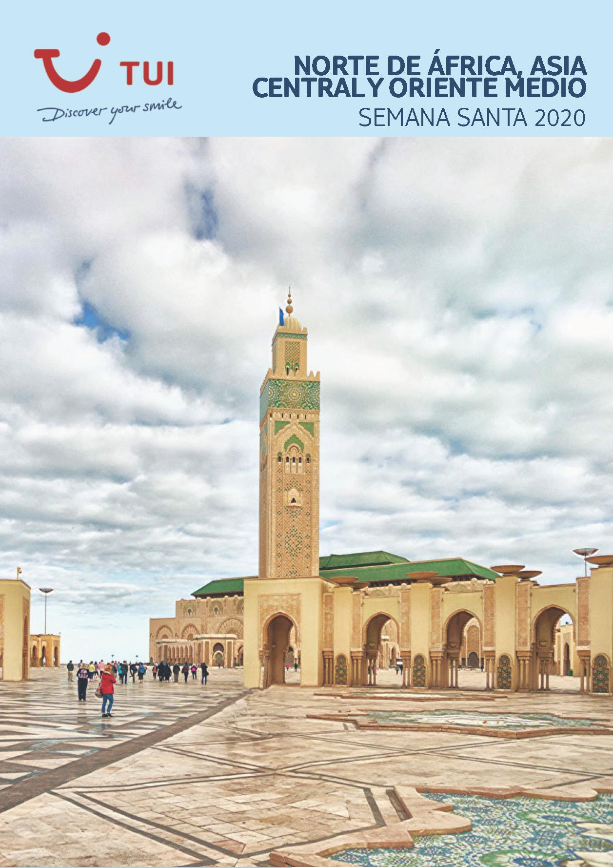 Catalogo TUI Ambassador Tours Semana 2020 Santa Oriente Medio Norte Africa y Asia Central