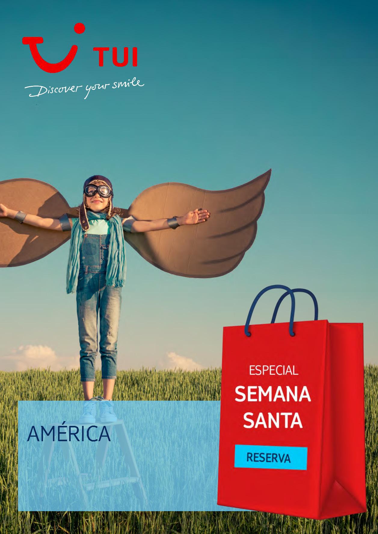 Catalogo TUI Ambassador Tours Semana Santa 2020 America