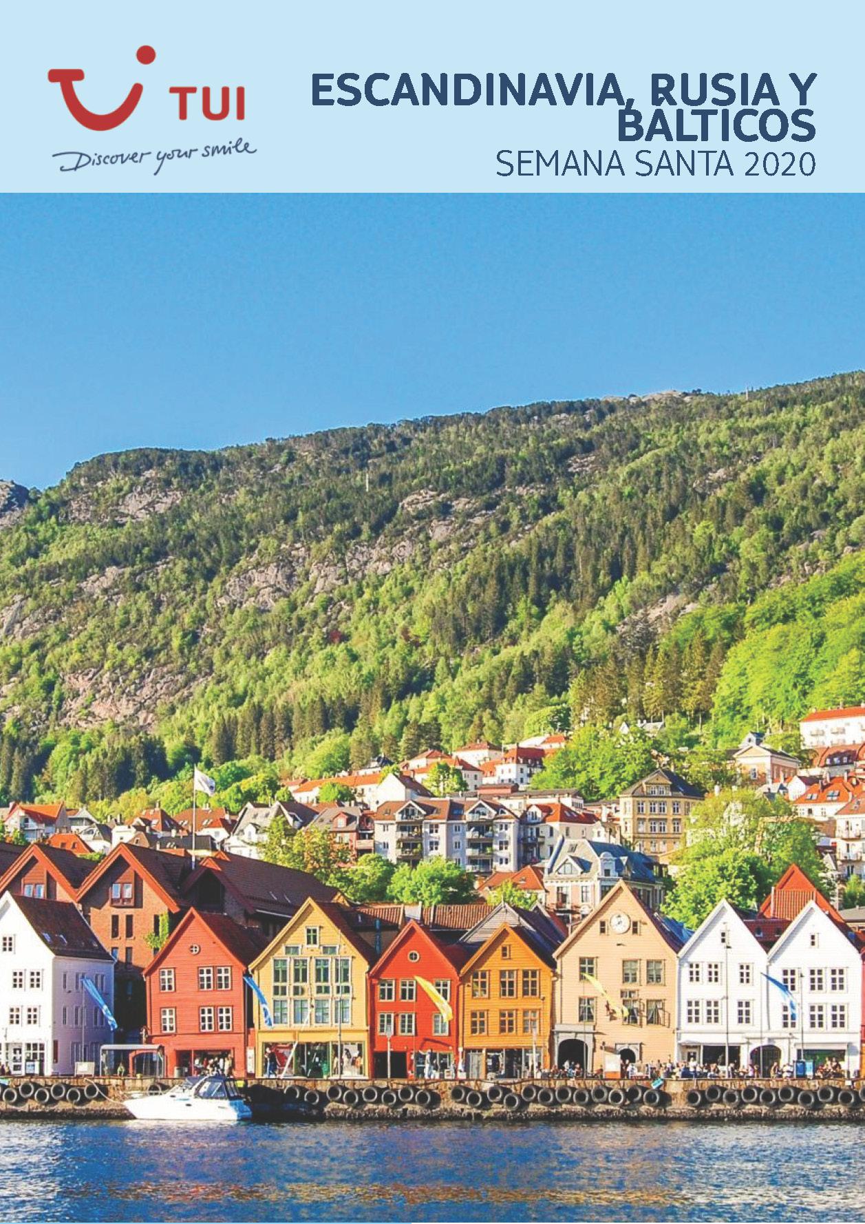 Catalogo TUI Ambassador Tours Semana Santa 2020 Escandinavia Rusia y Balticos