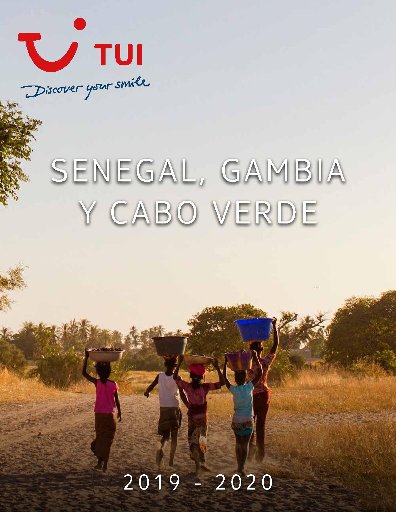 Catalogo TUI Ambassador Tours Senegal Gambia Cabo Verde 2019-2020