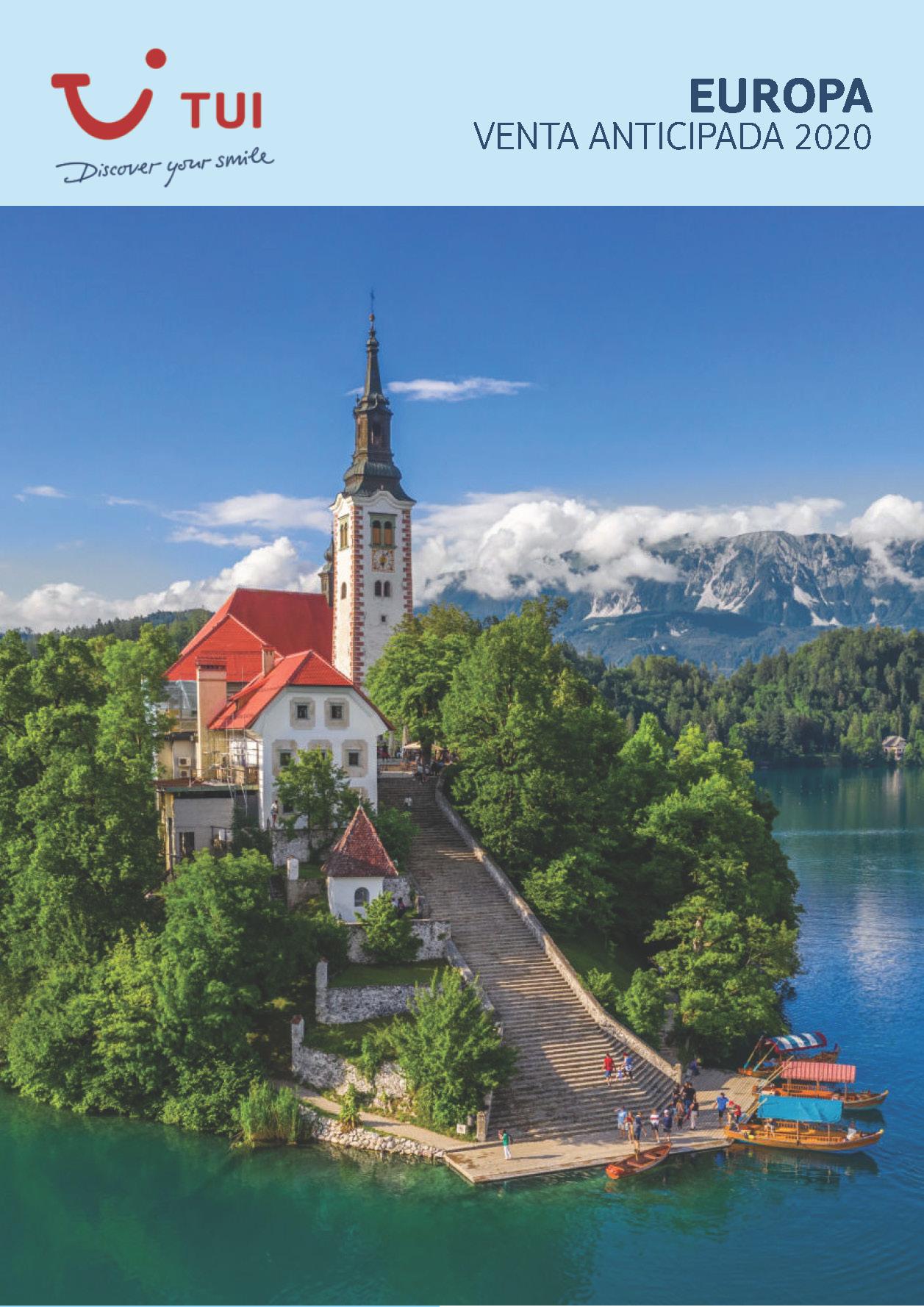 Catalogo TUI Ambassador Tours Venta Anticipada Europa 2020