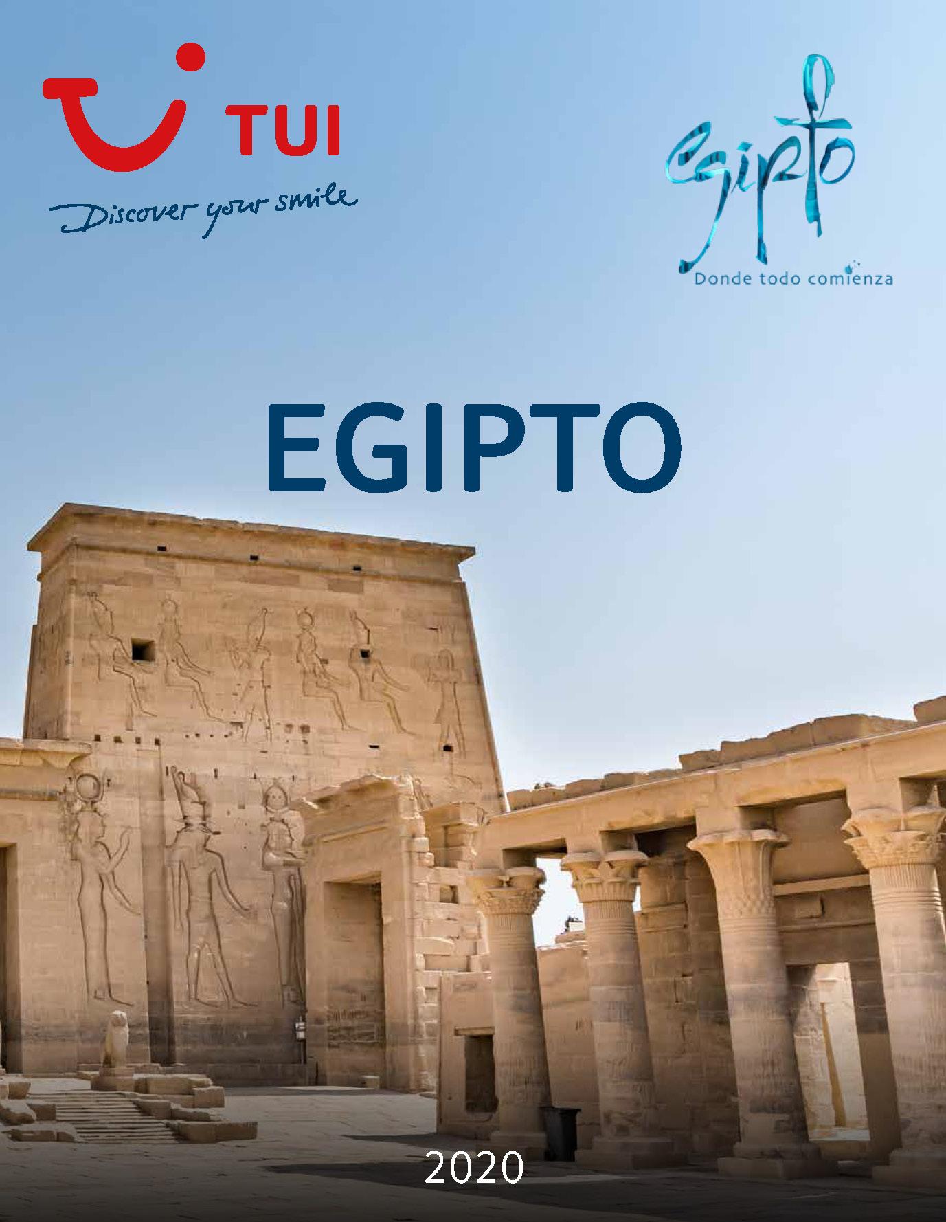Catalogo TUI Egipto 2020