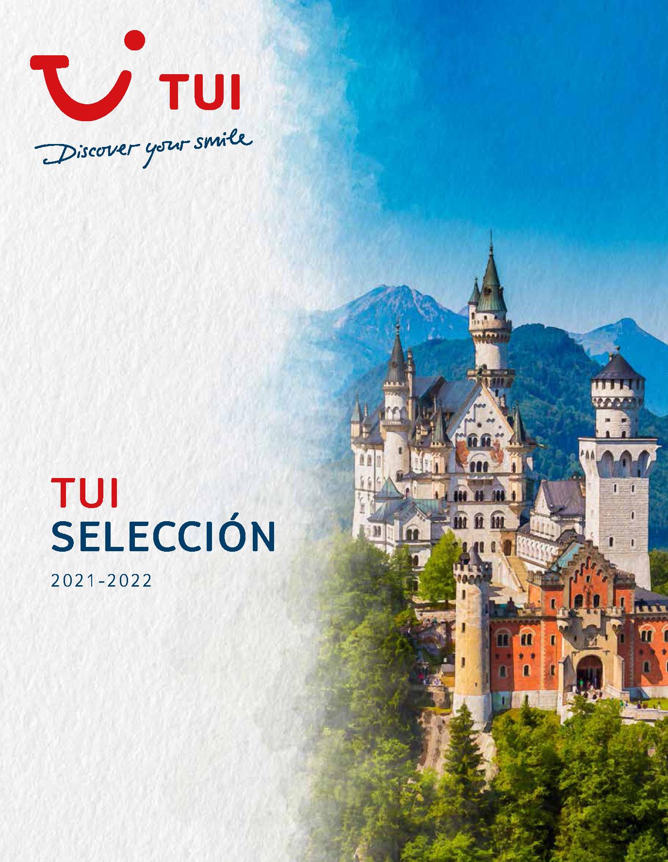 Catalogo TUI Europa Seleccion 2021-2022
