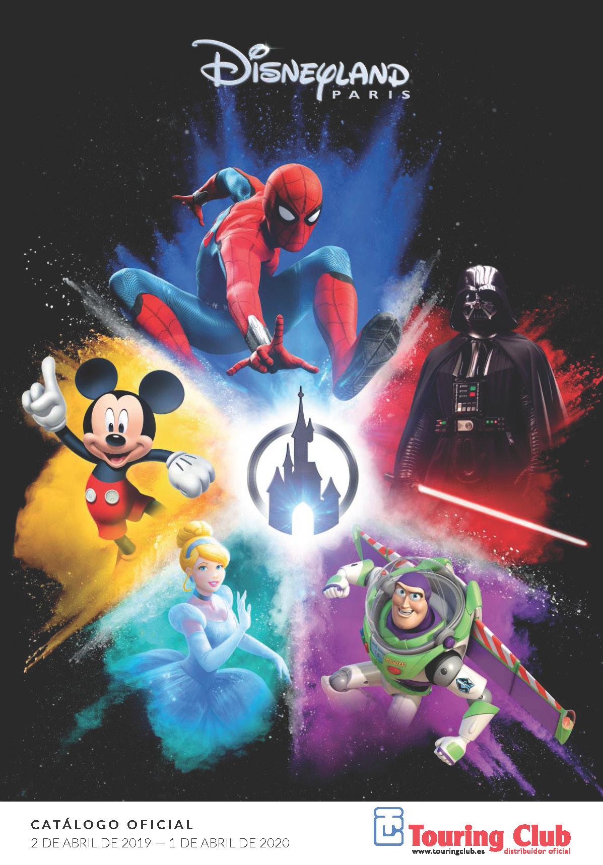 Catalogo Touring Club Disneyland París 2019-2020