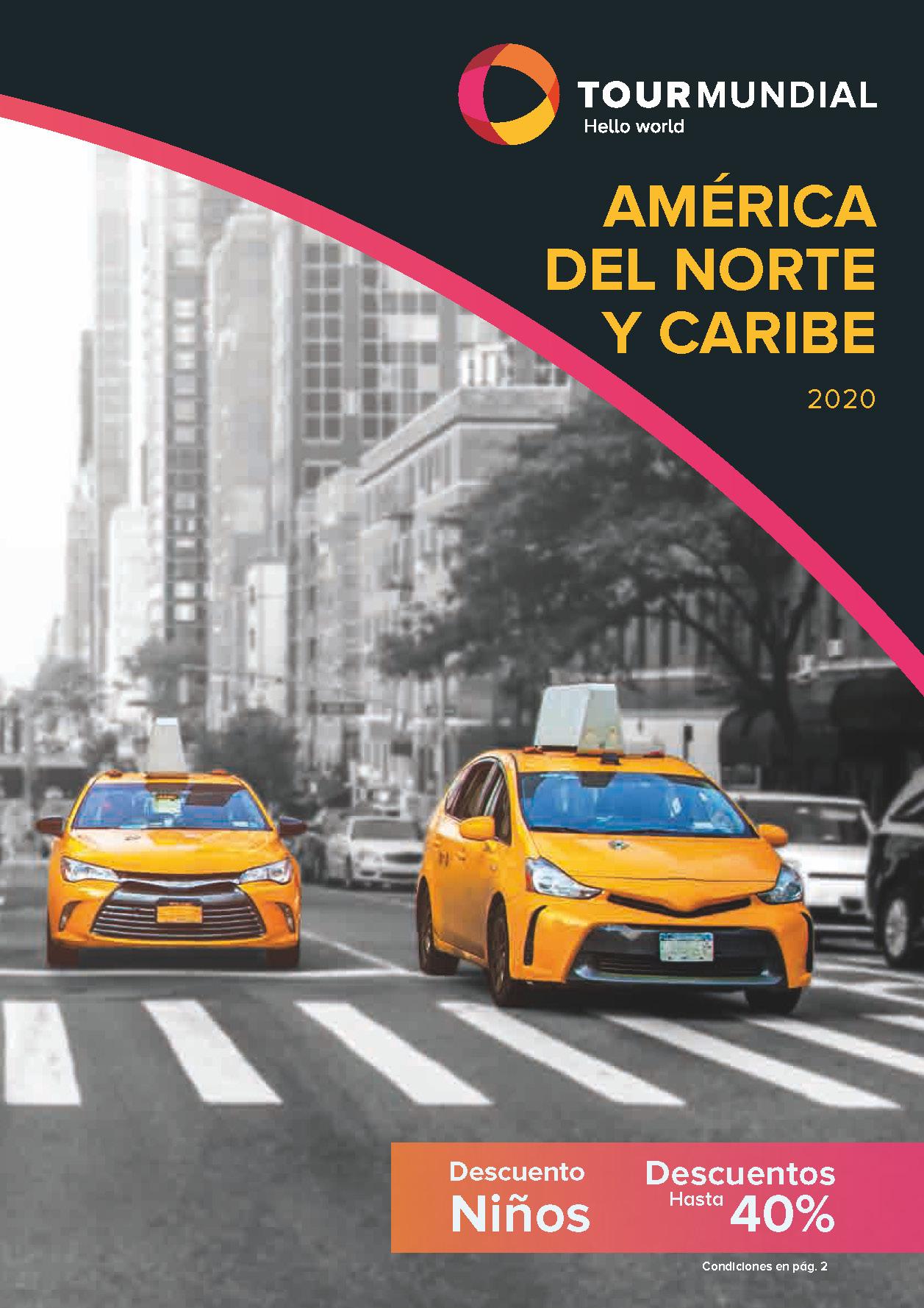 Catalogo Tourmundial America del Norte y Caribe 2020